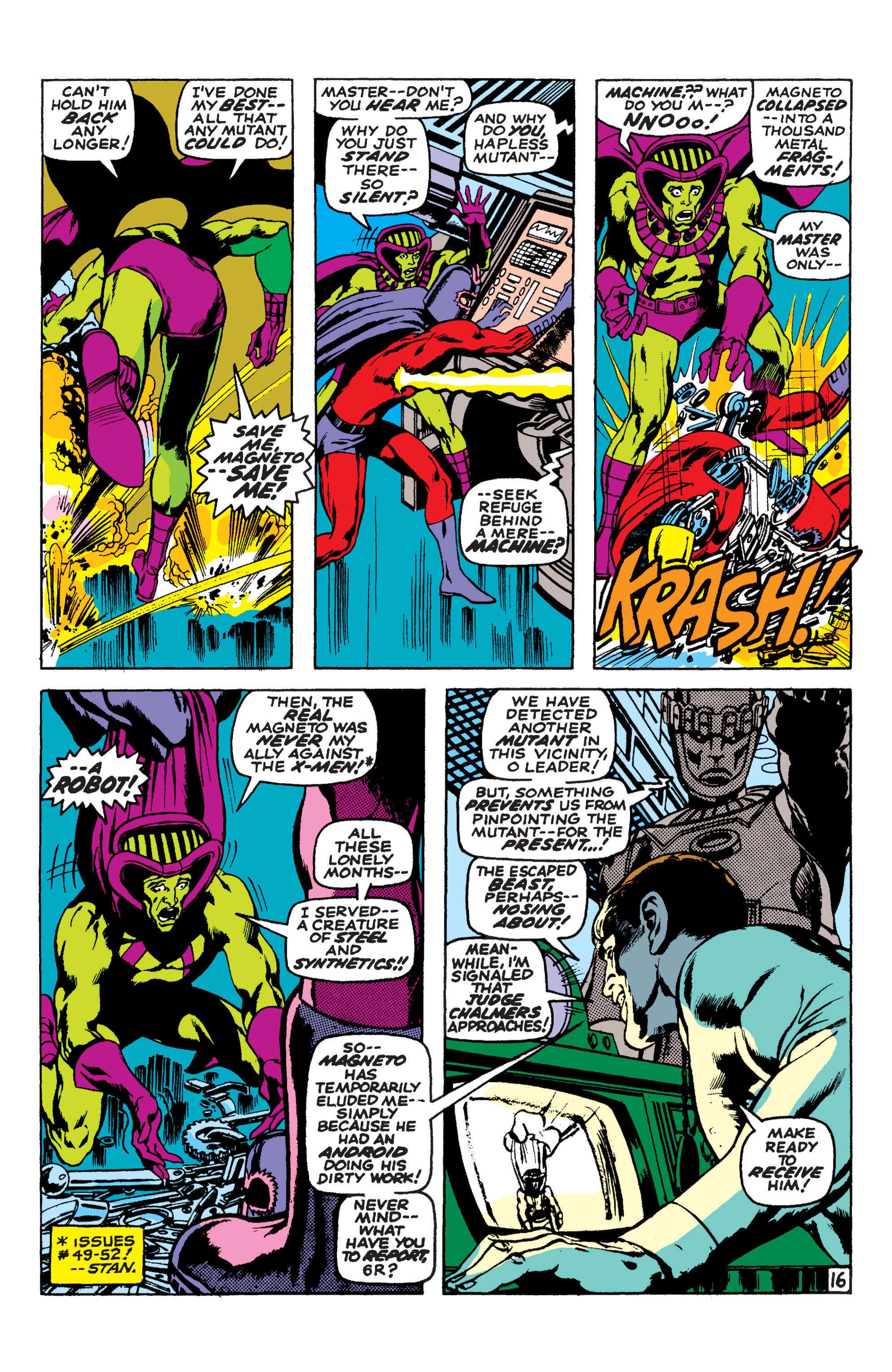 Read online Uncanny X-Men (1963) comic -  Issue #58 - 16