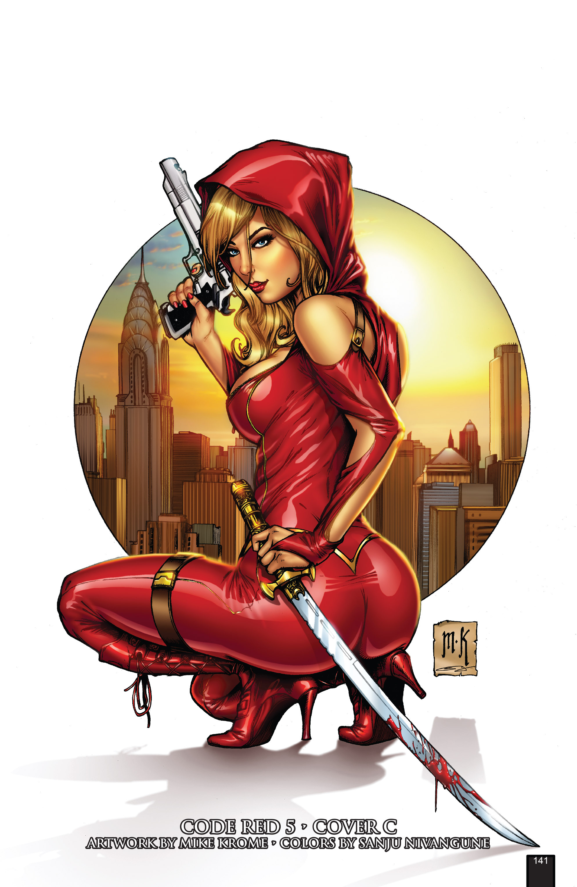 Read online Grimm Fairy Tales presents Code Red comic -  Issue # TPB - 141