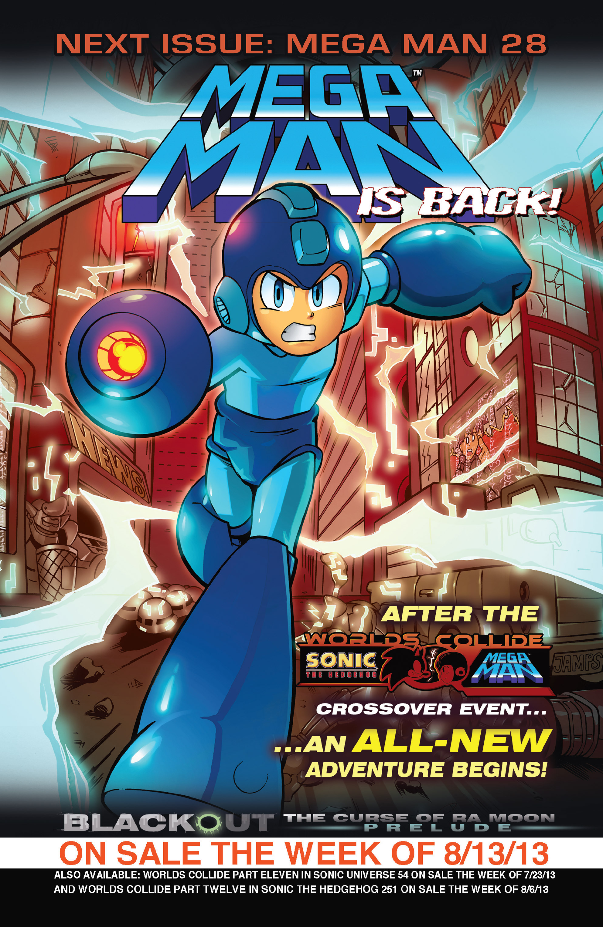 Read online Sonic Mega Man Worlds Collide comic -  Issue # Vol 3 - 70