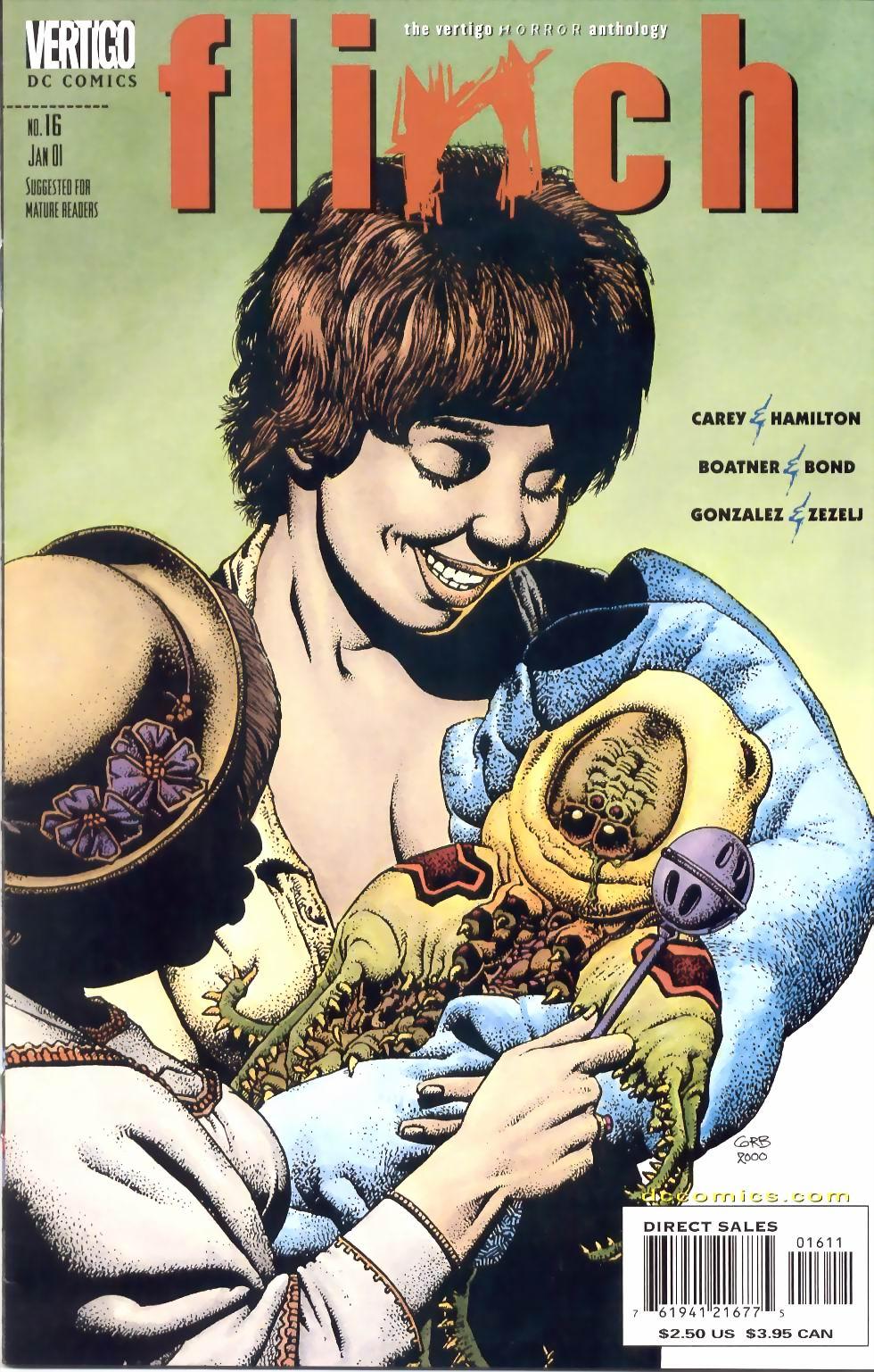 Read online Flinch comic -  Issue #16 - 1