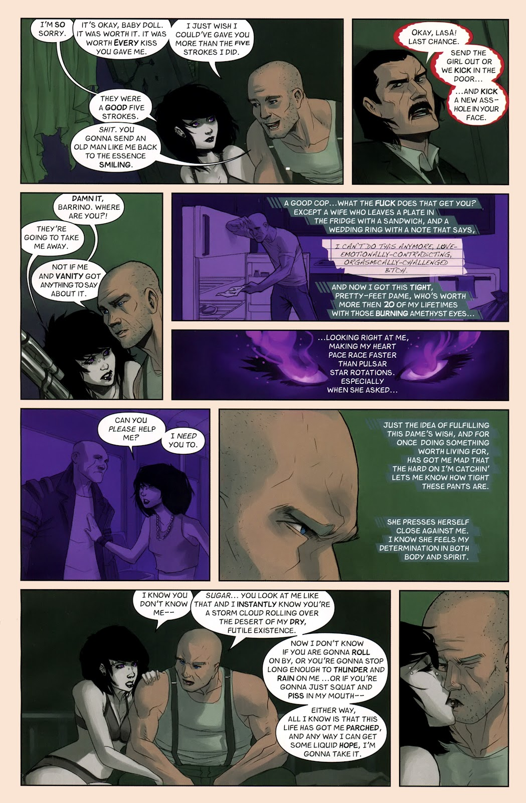Read online Vescell comic -  Issue #7 - 4
