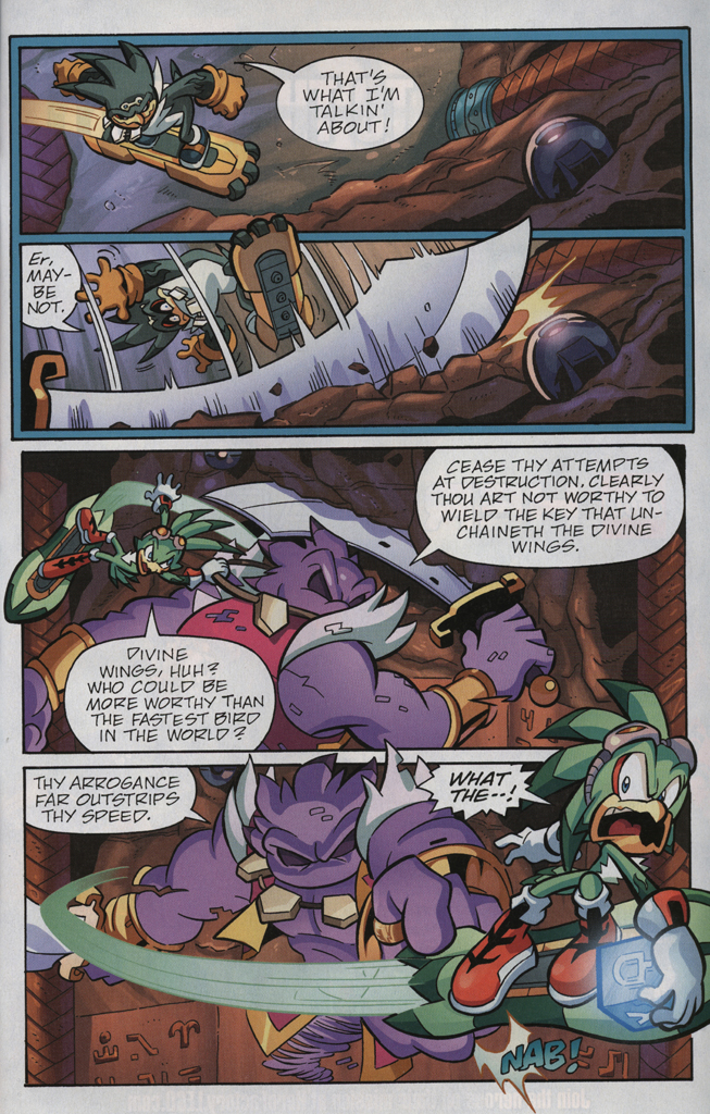 Read online Sonic Universe comic -  Issue #33 - 17