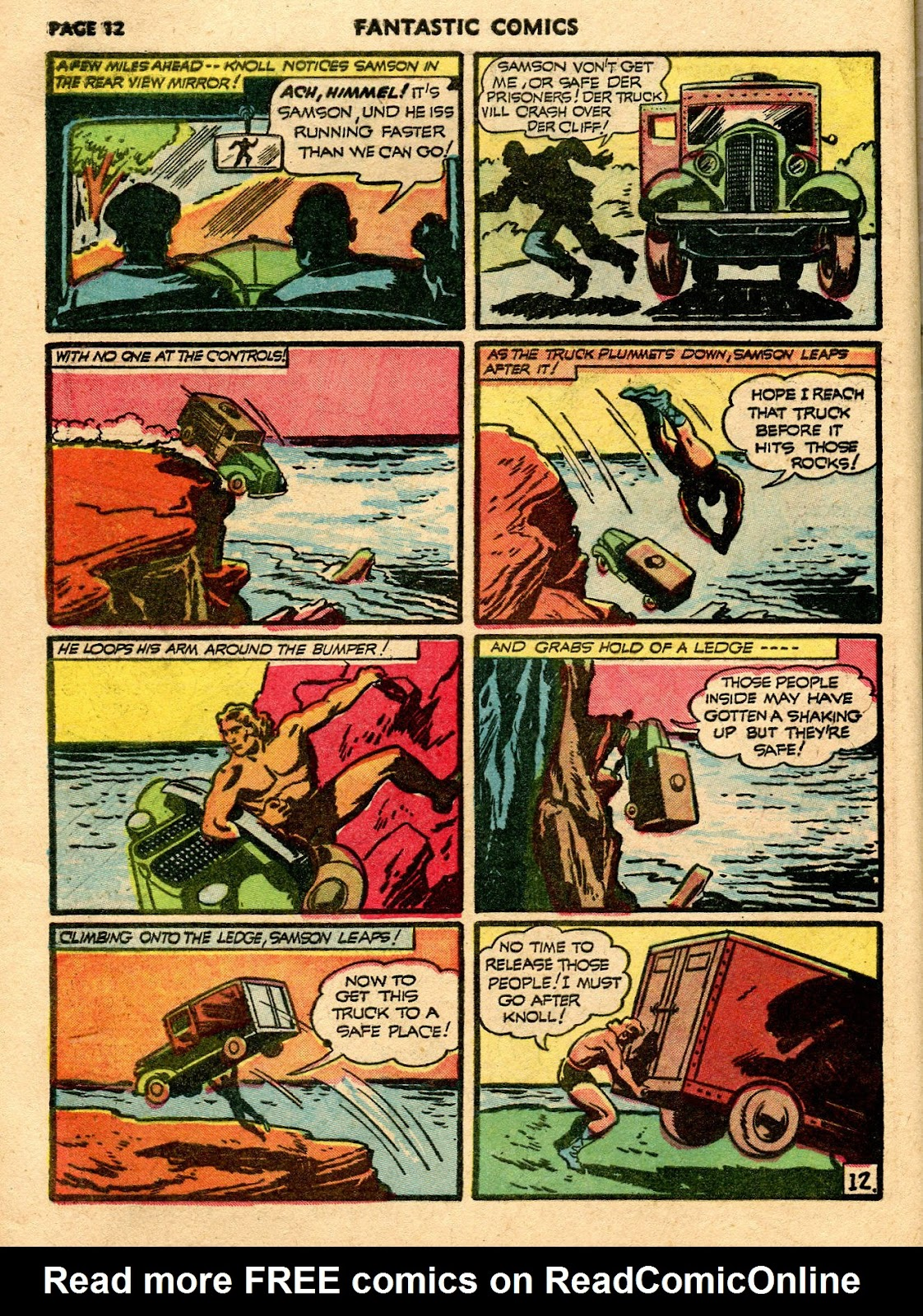 Read online Fantastic Comics comic -  Issue #21 - 14