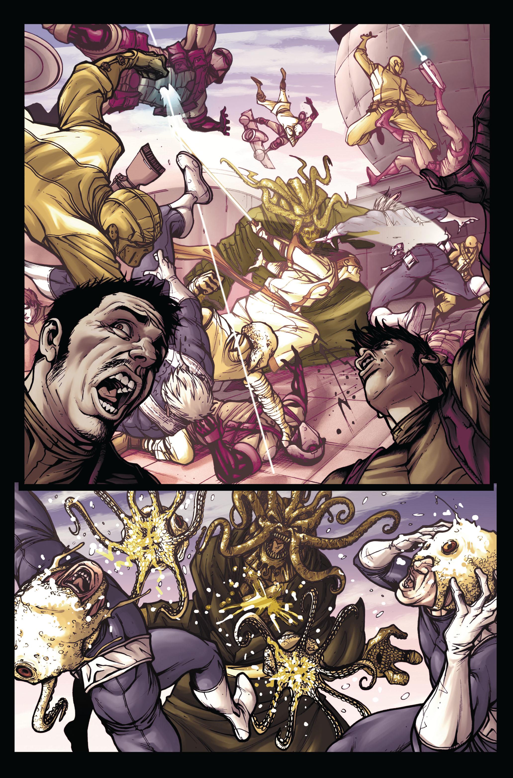 Read online Secret Warriors comic -  Issue #5 - 18