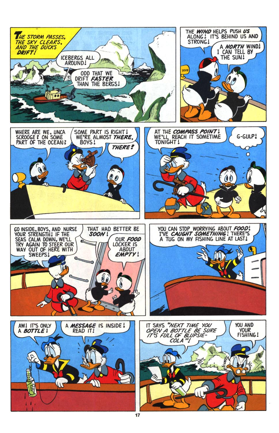 Read online Uncle Scrooge (1953) comic -  Issue #255 - 19