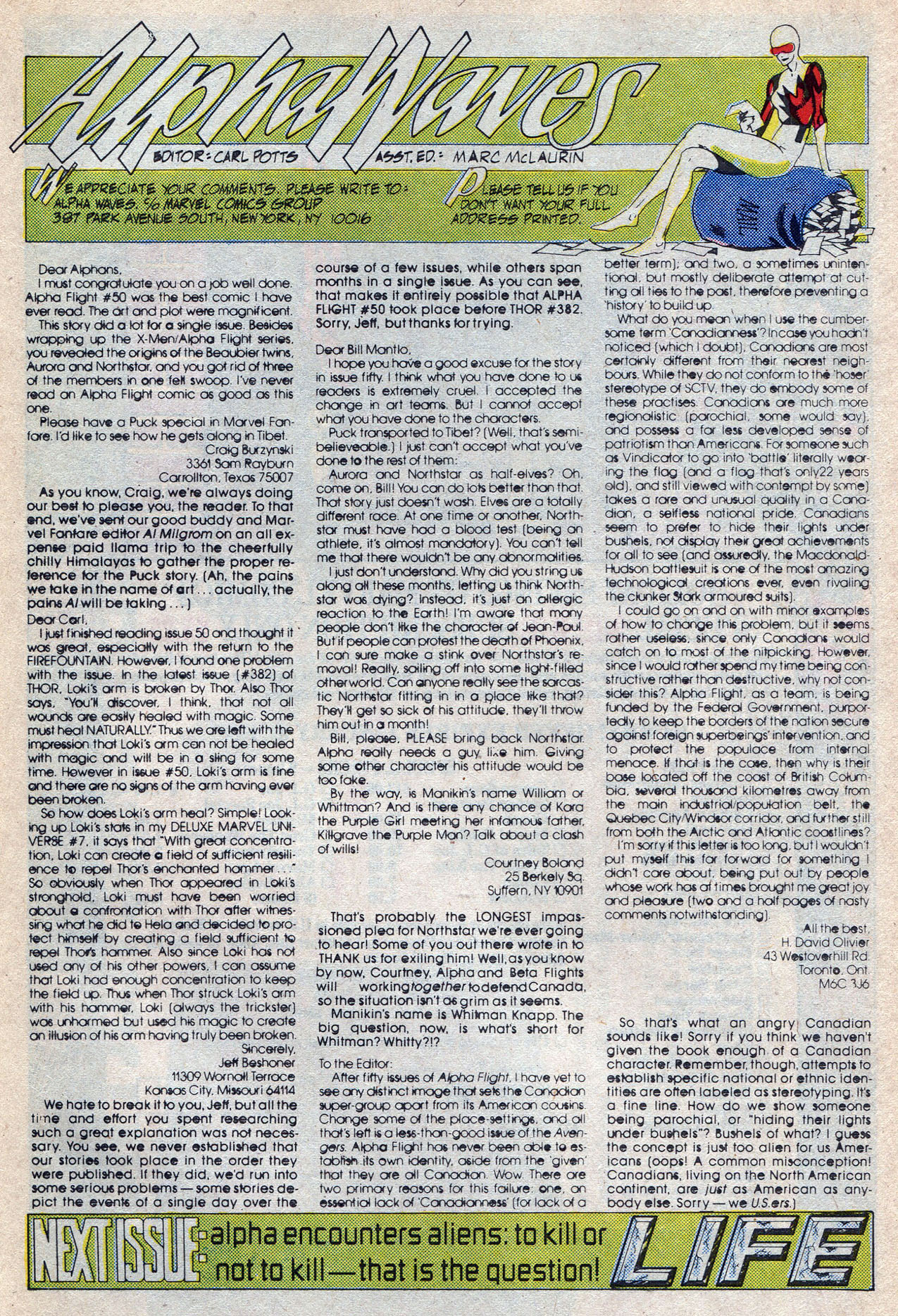 Read online Alpha Flight (1983) comic -  Issue #56 - 32