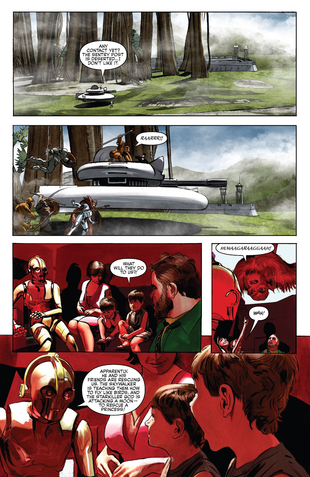 Read online Star Wars Legends: Infinities - Epic Collection comic -  Issue # TPB (Part 5) - 58