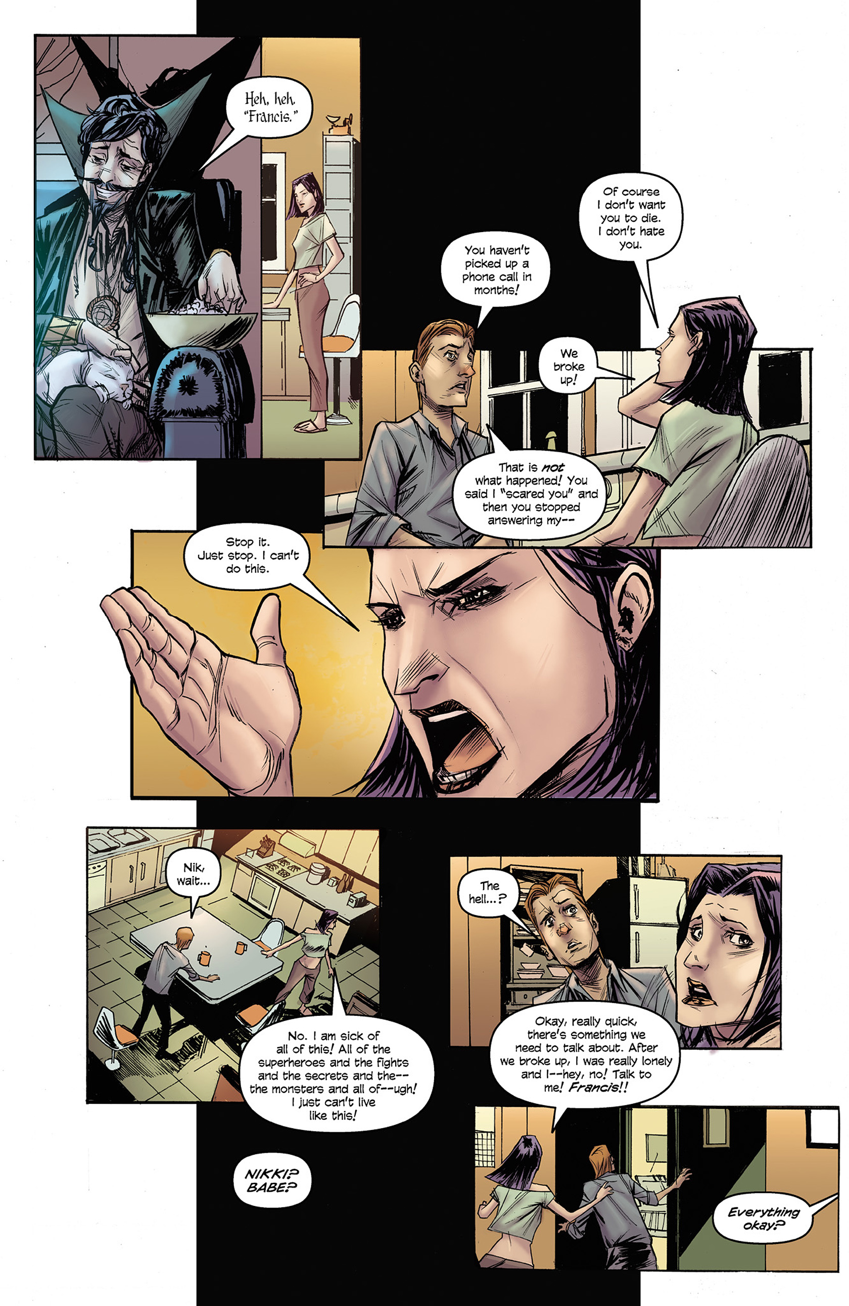 Read online Buzzkill comic -  Issue #3 - 13