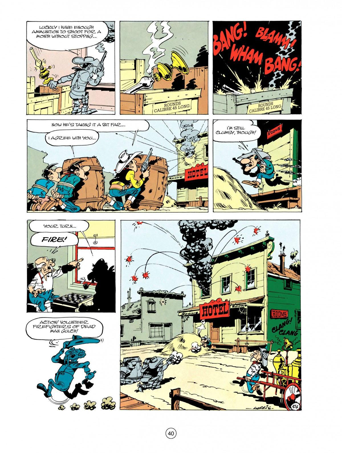 Read online A Lucky Luke Adventure comic -  Issue #28 - 41