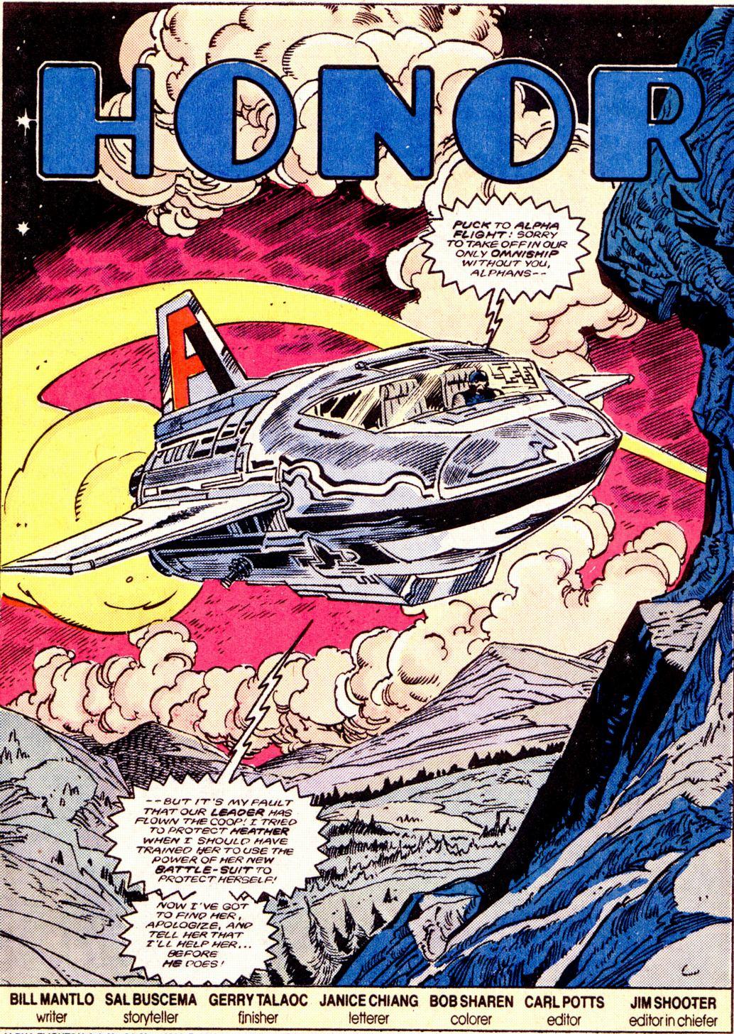 Read online Alpha Flight (1983) comic -  Issue #34 - 2