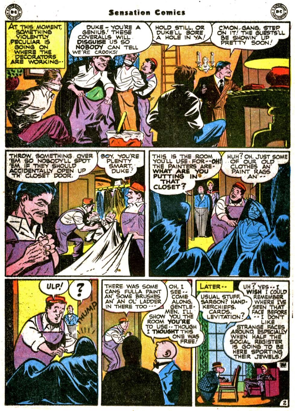Read online Sensation (Mystery) Comics comic -  Issue #64 - 30