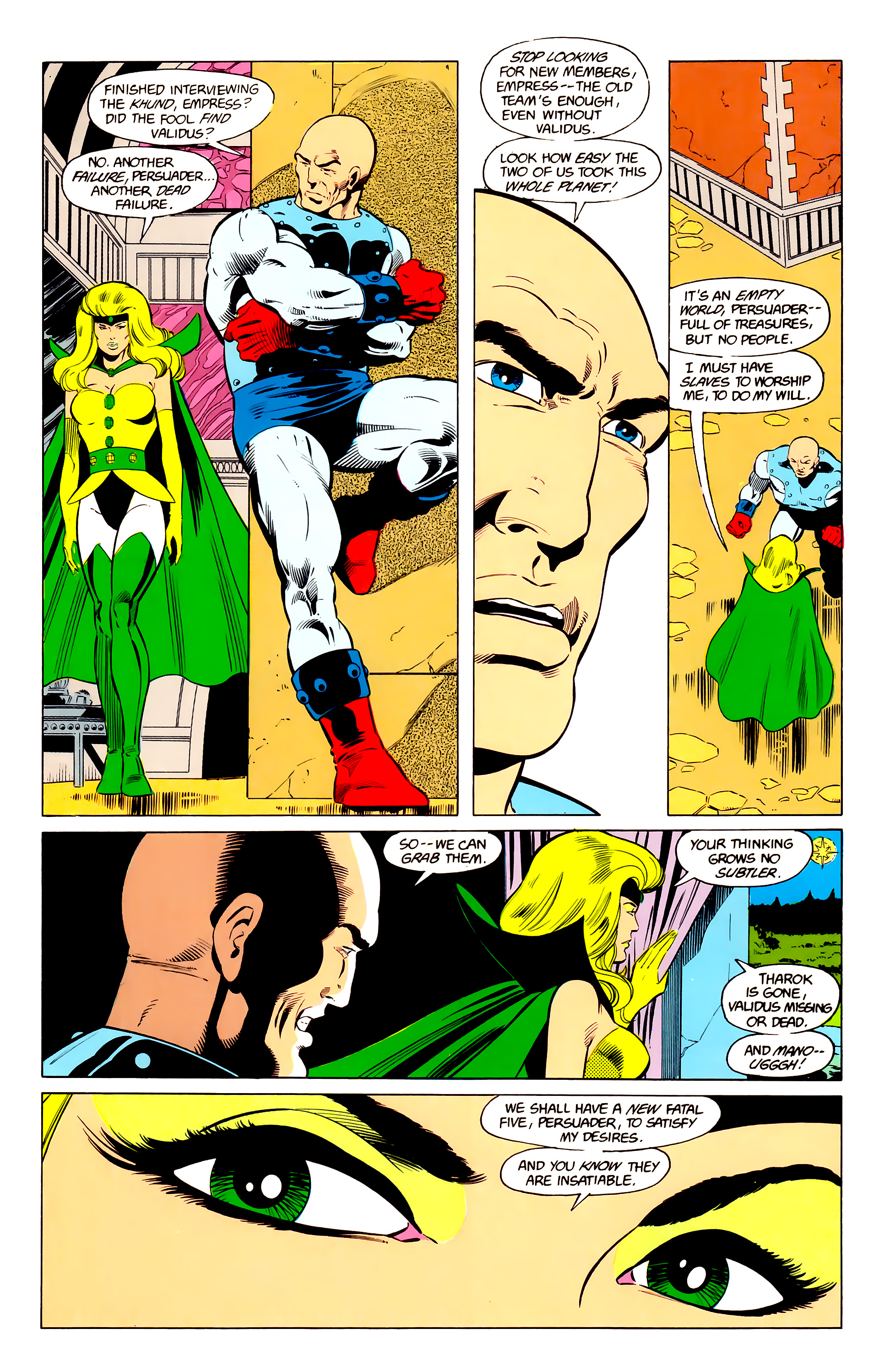 Legion of Super-Heroes (1984) 24 Page 13