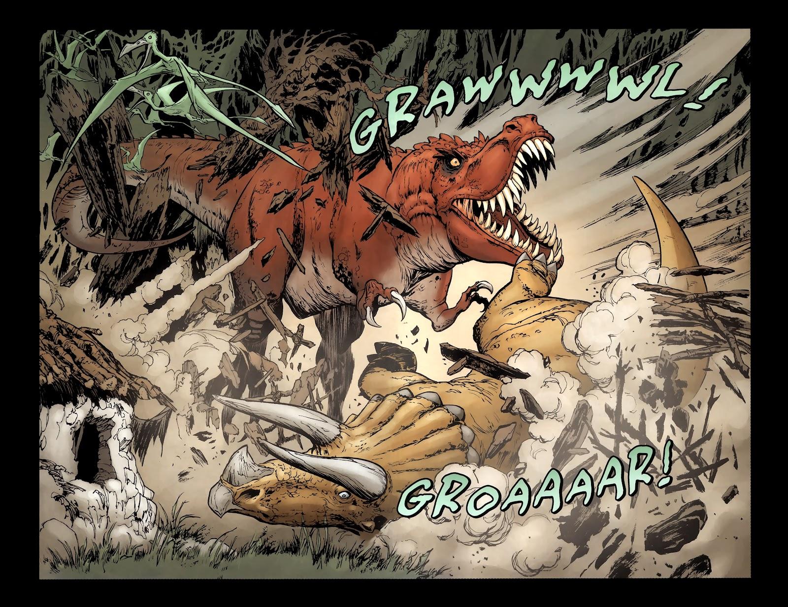 Read online Tyrannosaurus Rex comic -  Issue # Full - 4