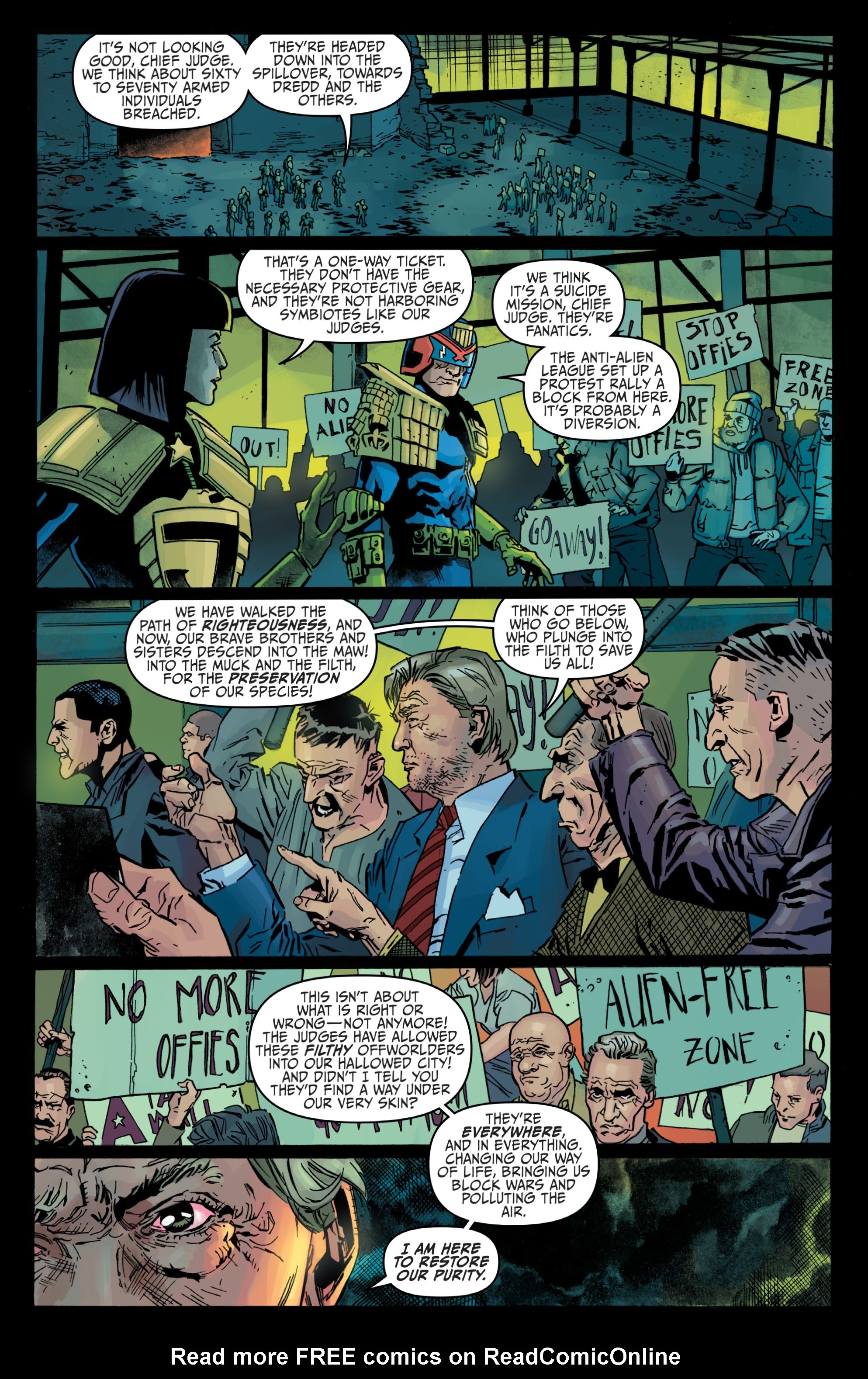 Judge Dredd: Toxic #4 #4 - English 8