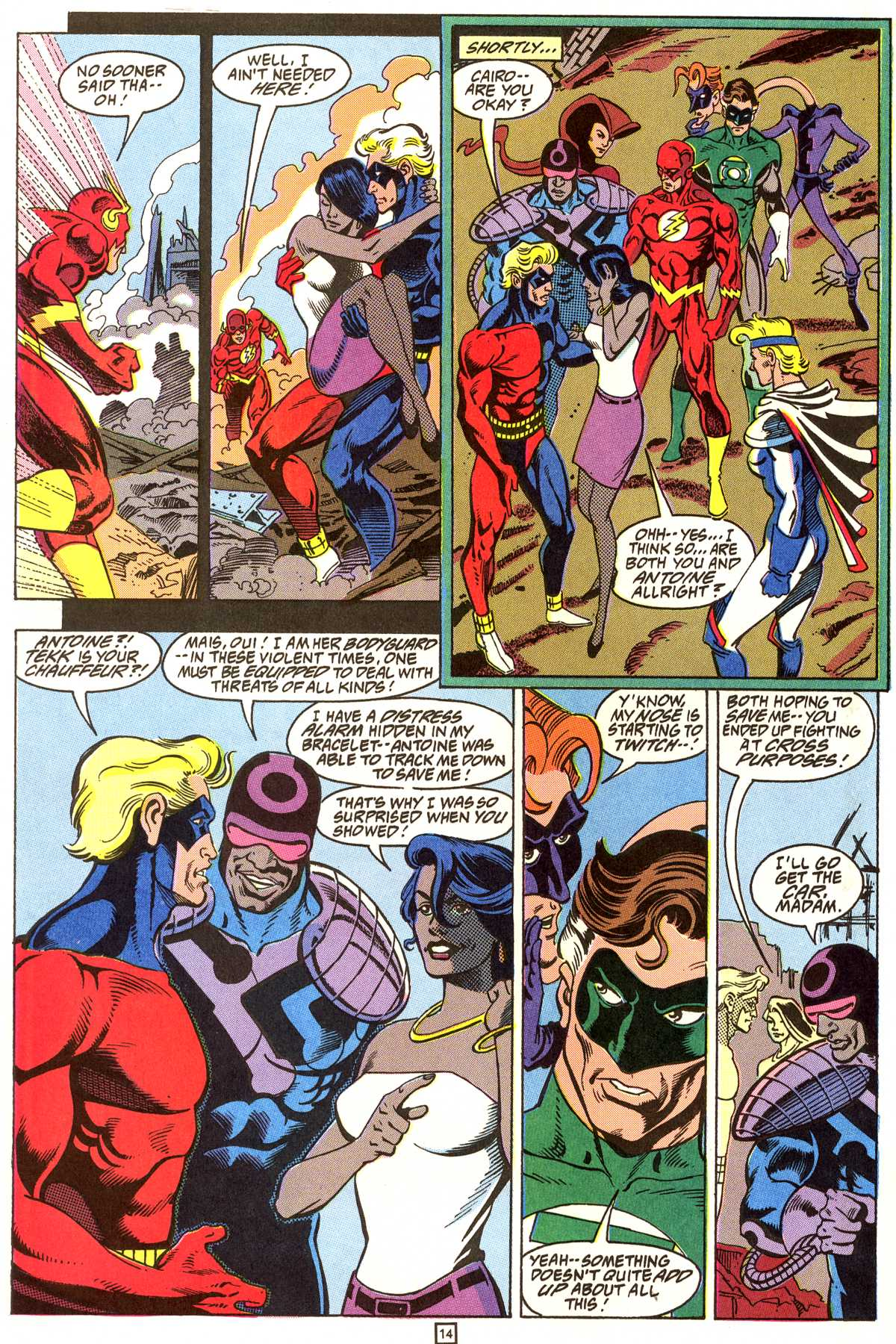Read online Peter Cannon--Thunderbolt (1992) comic -  Issue #9 - 15