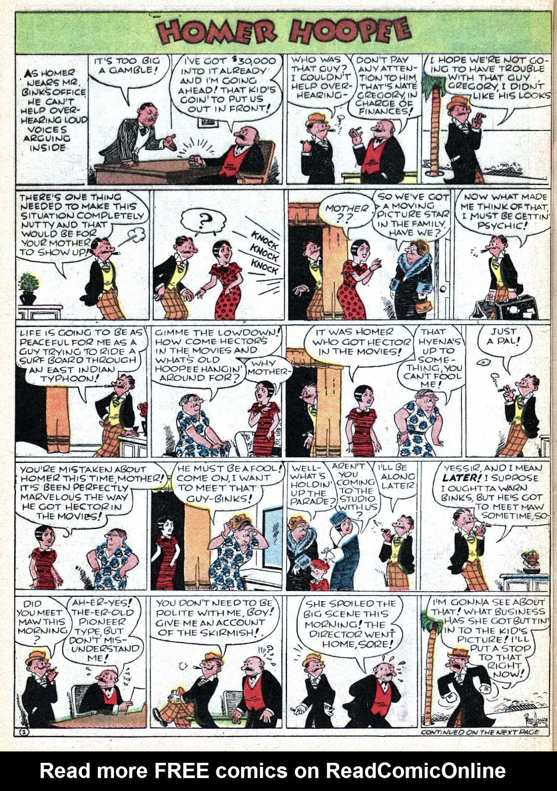 Read online Famous Funnies comic -  Issue #36 - 62