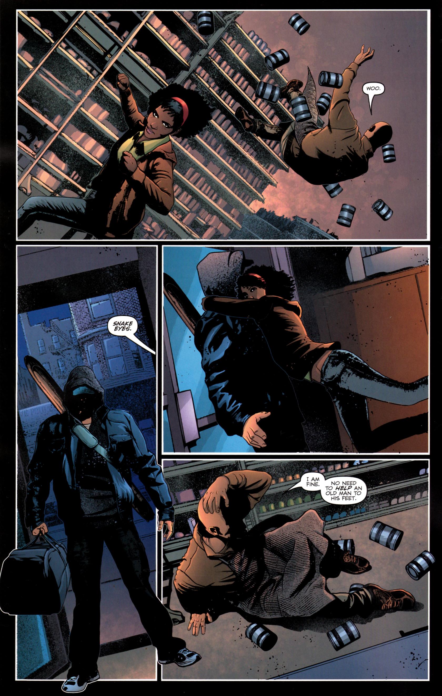 Read online G.I. Joe: Snake Eyes comic -  Issue #12 - 7