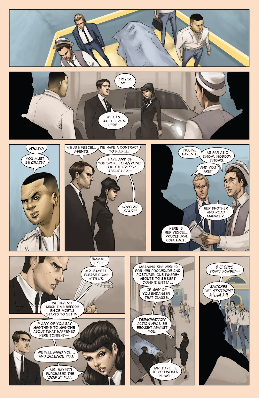 Read online Vescell comic -  Issue #4 - 11