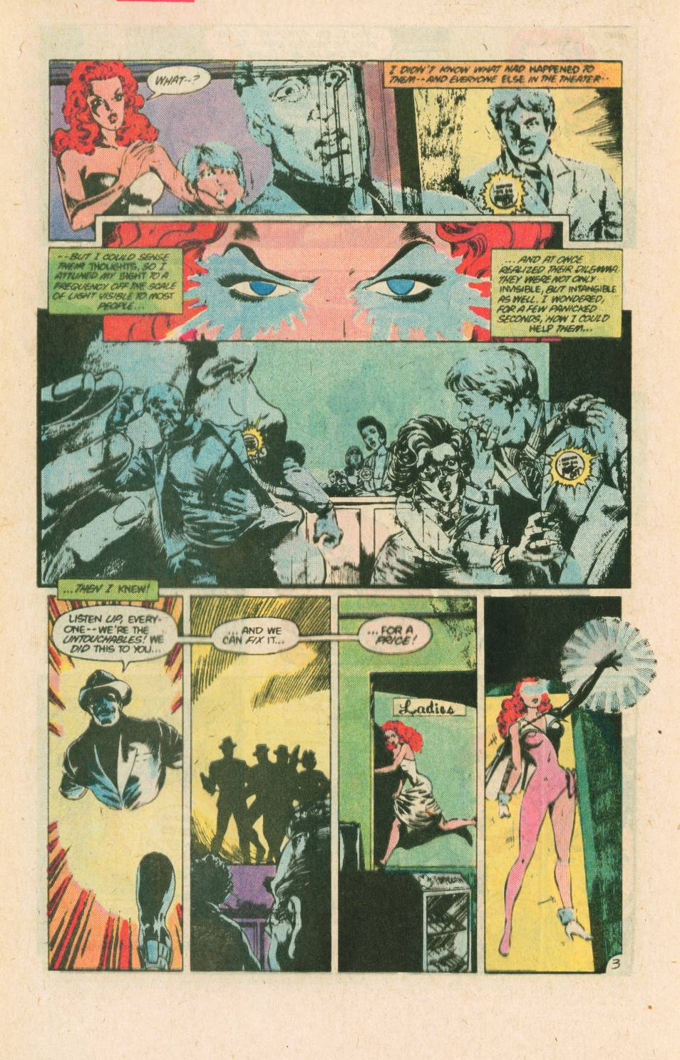 Read online Adventures of the Outsiders comic -  Issue #40 - 26