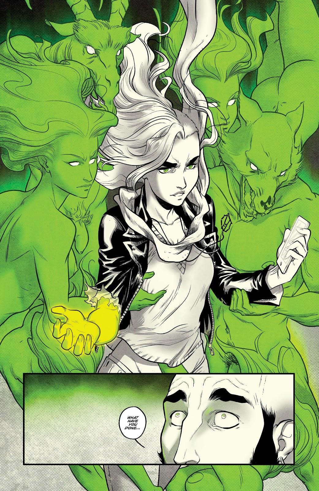 Read online Nomen Omen comic -  Issue #6 - 11