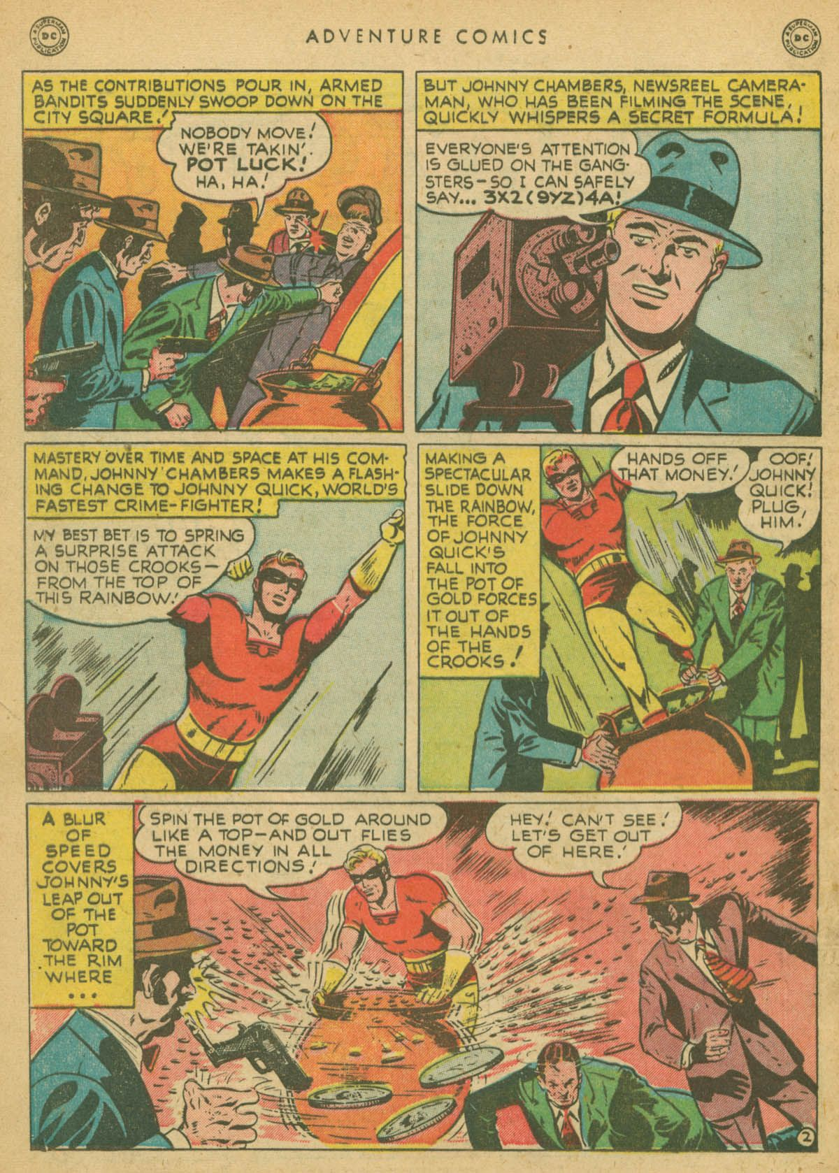 Read online Adventure Comics (1938) comic -  Issue #142 - 41