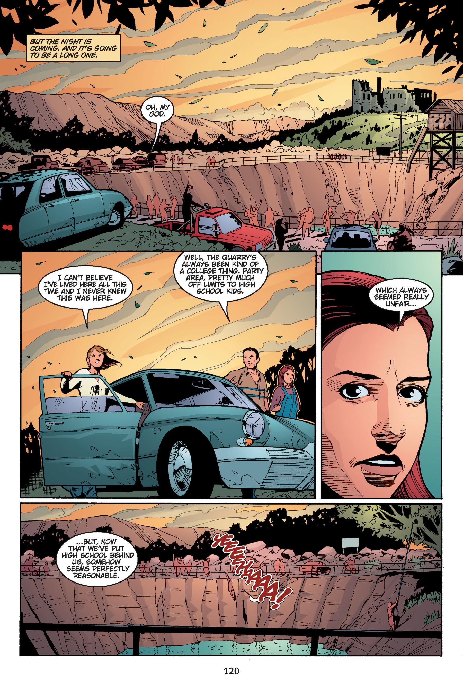 Read online Buffy the Vampire Slayer: Omnibus comic -  Issue # TPB 5 - 120