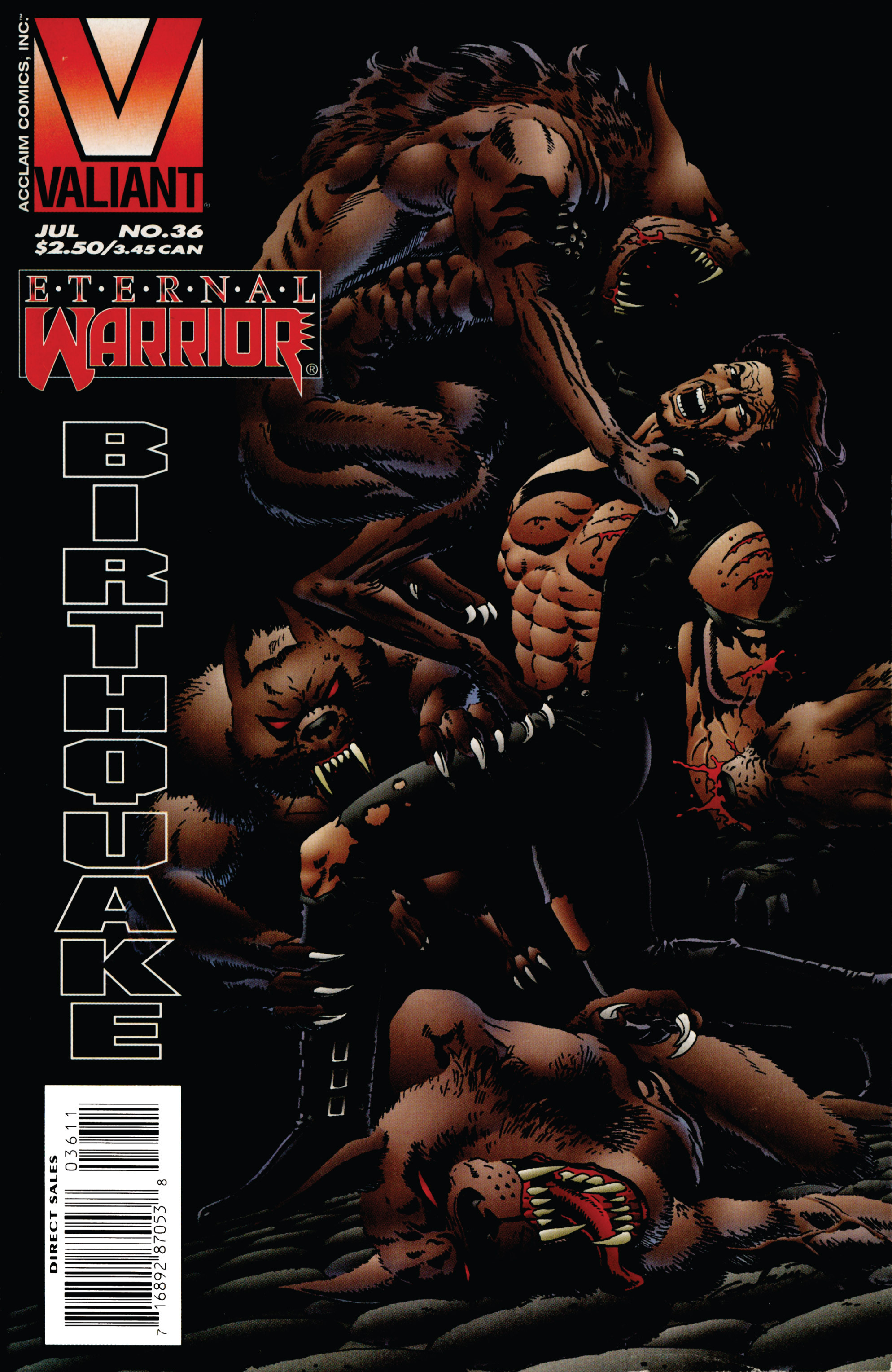 Read online Eternal Warrior (1992) comic -  Issue #36 - 1