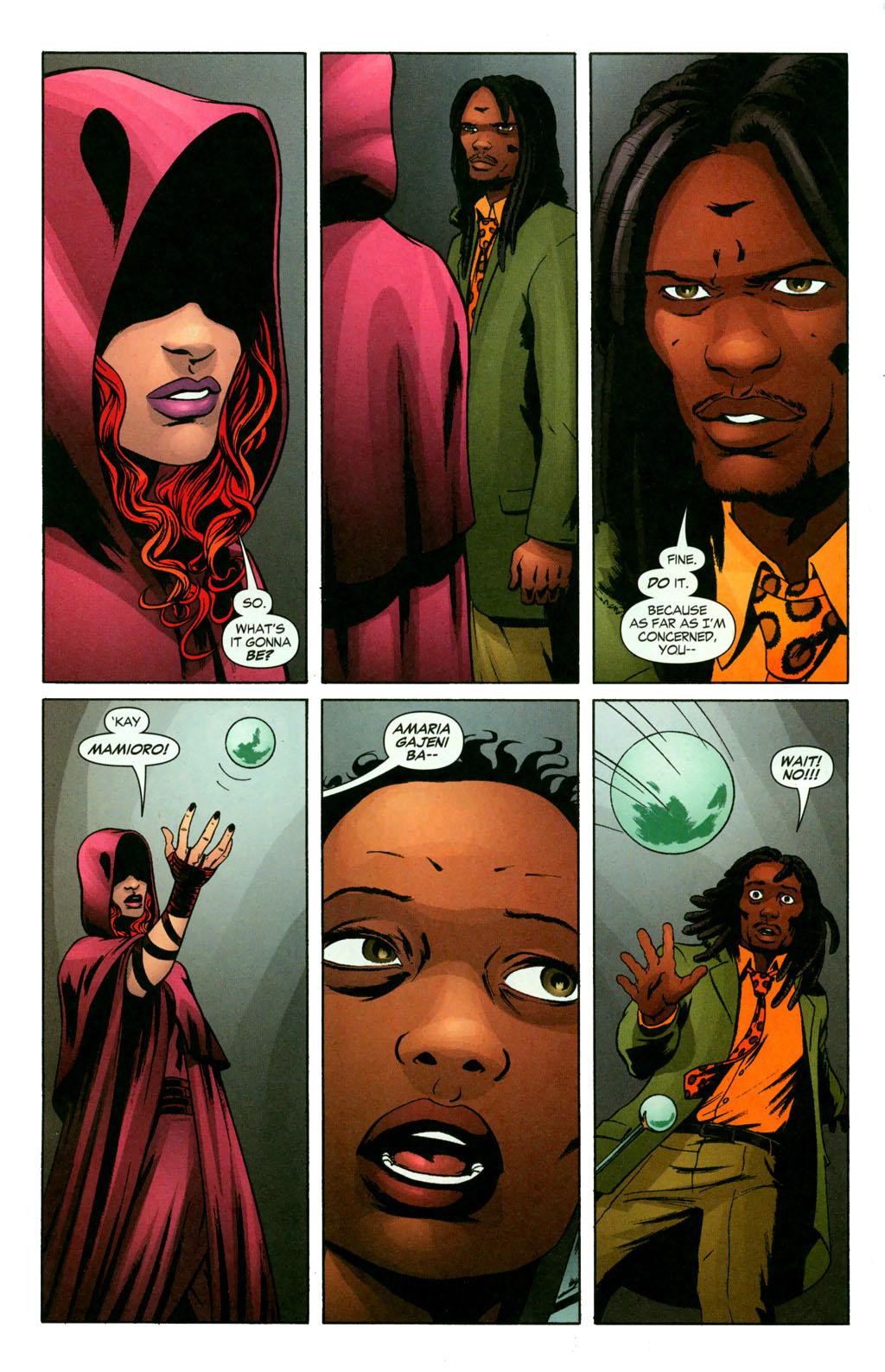 Read online Fallen Angel (2003) comic -  Issue #11 - 15