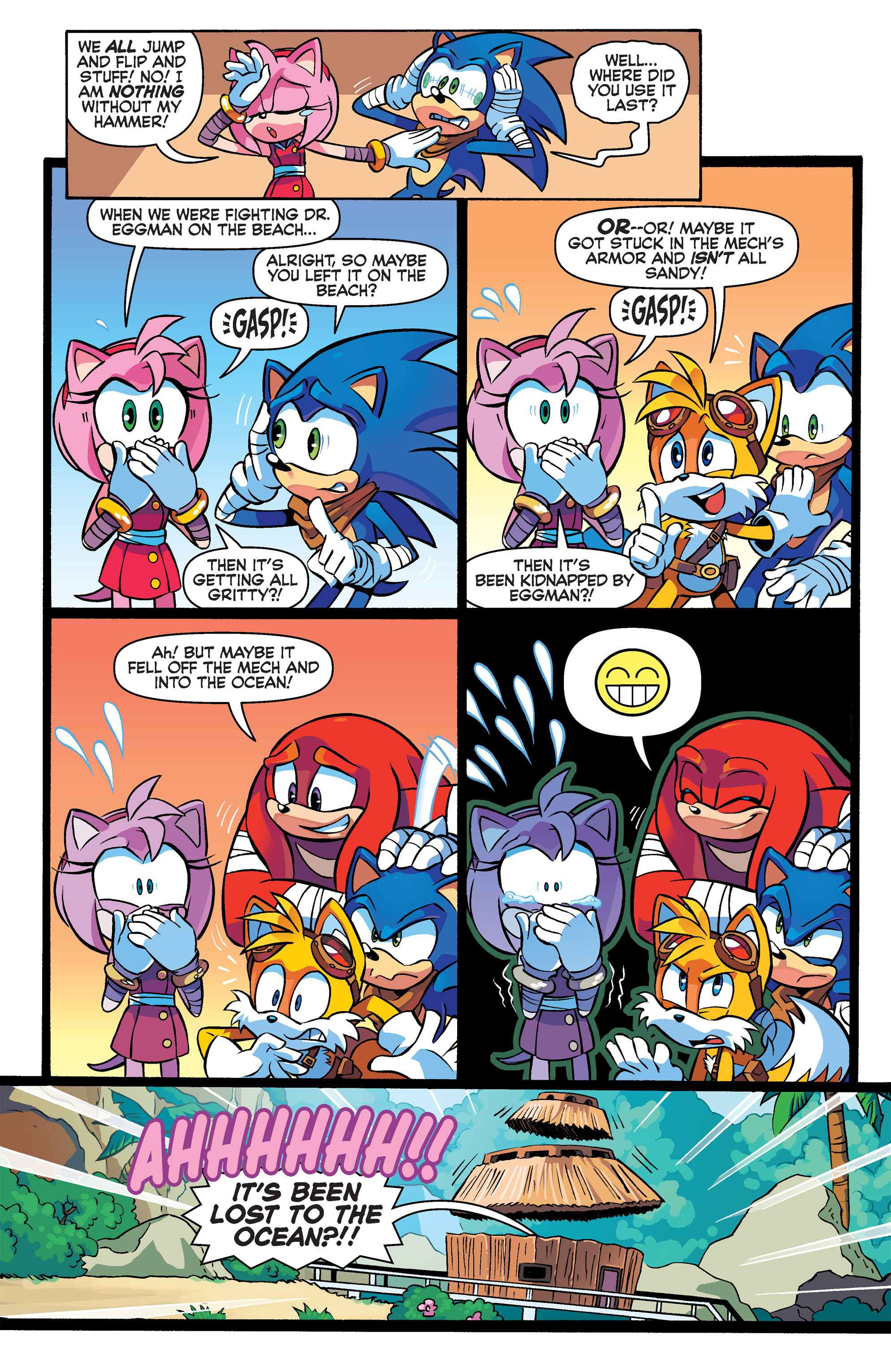 Read online Sonic Boom comic -  Issue #3 - 5