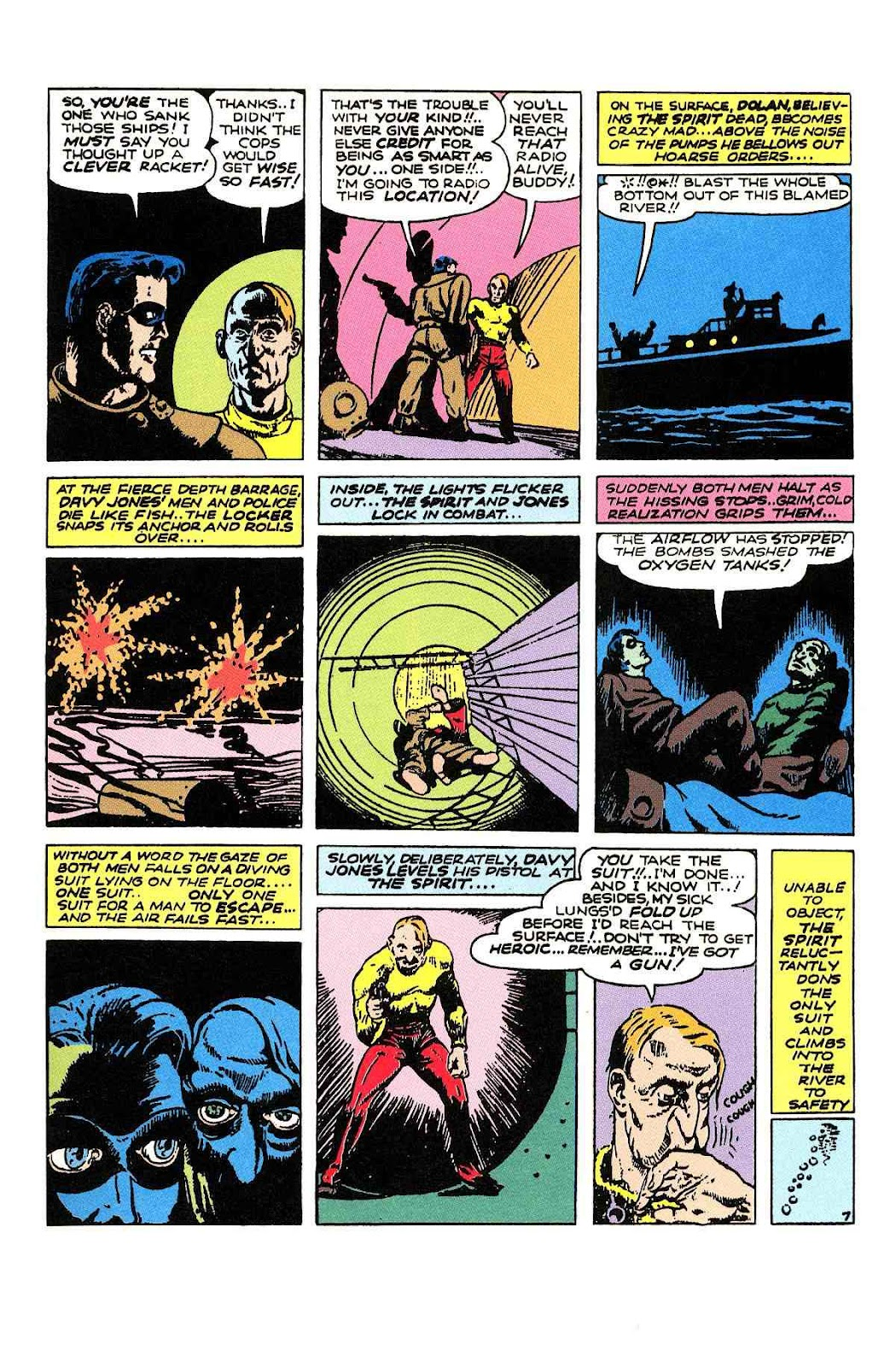 Read online Will Eisner's The Spirit Archives comic -  Issue # TPB 2 (Part 1) - 39