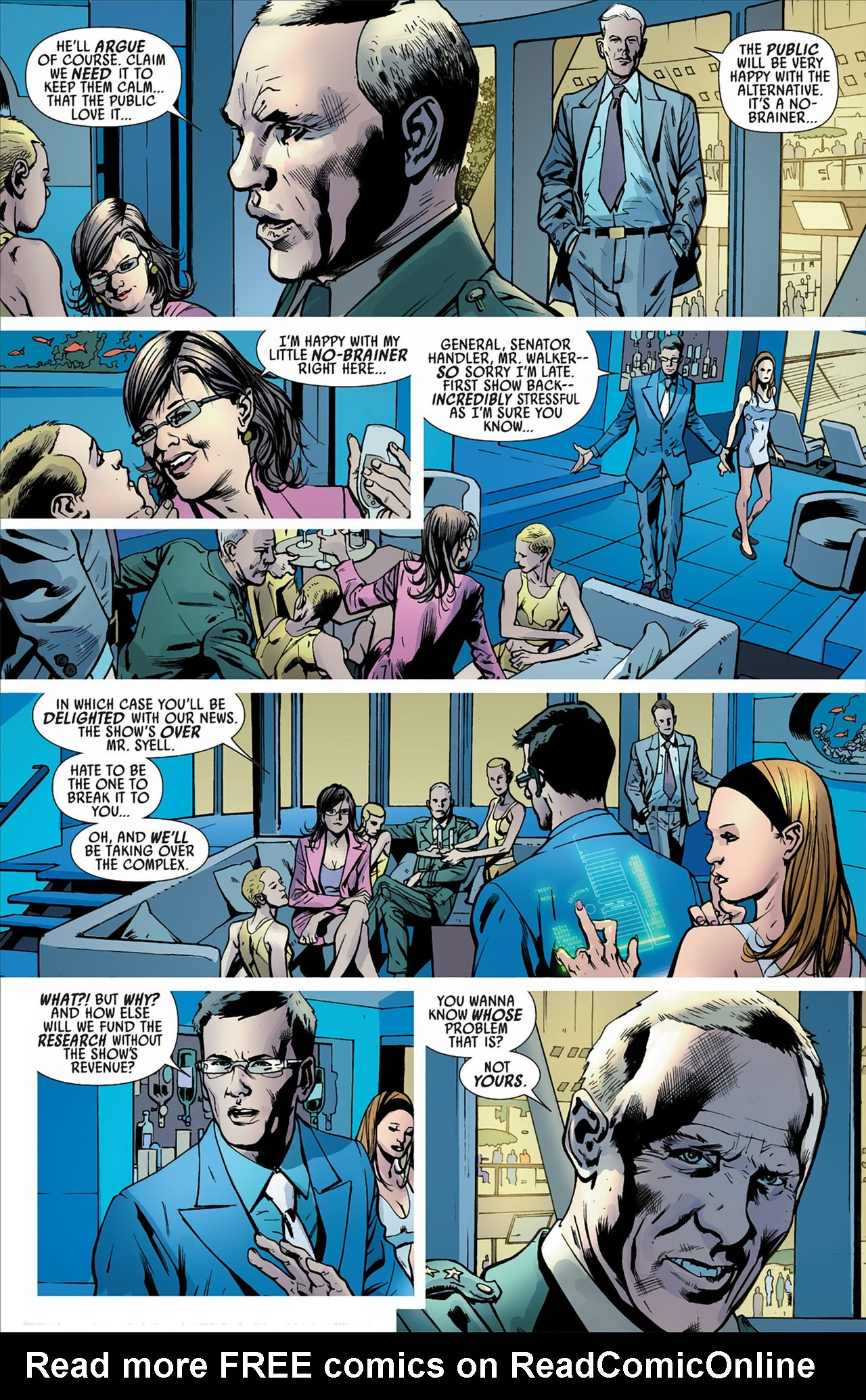 Read online America's Got Powers comic -  Issue #2 - 14