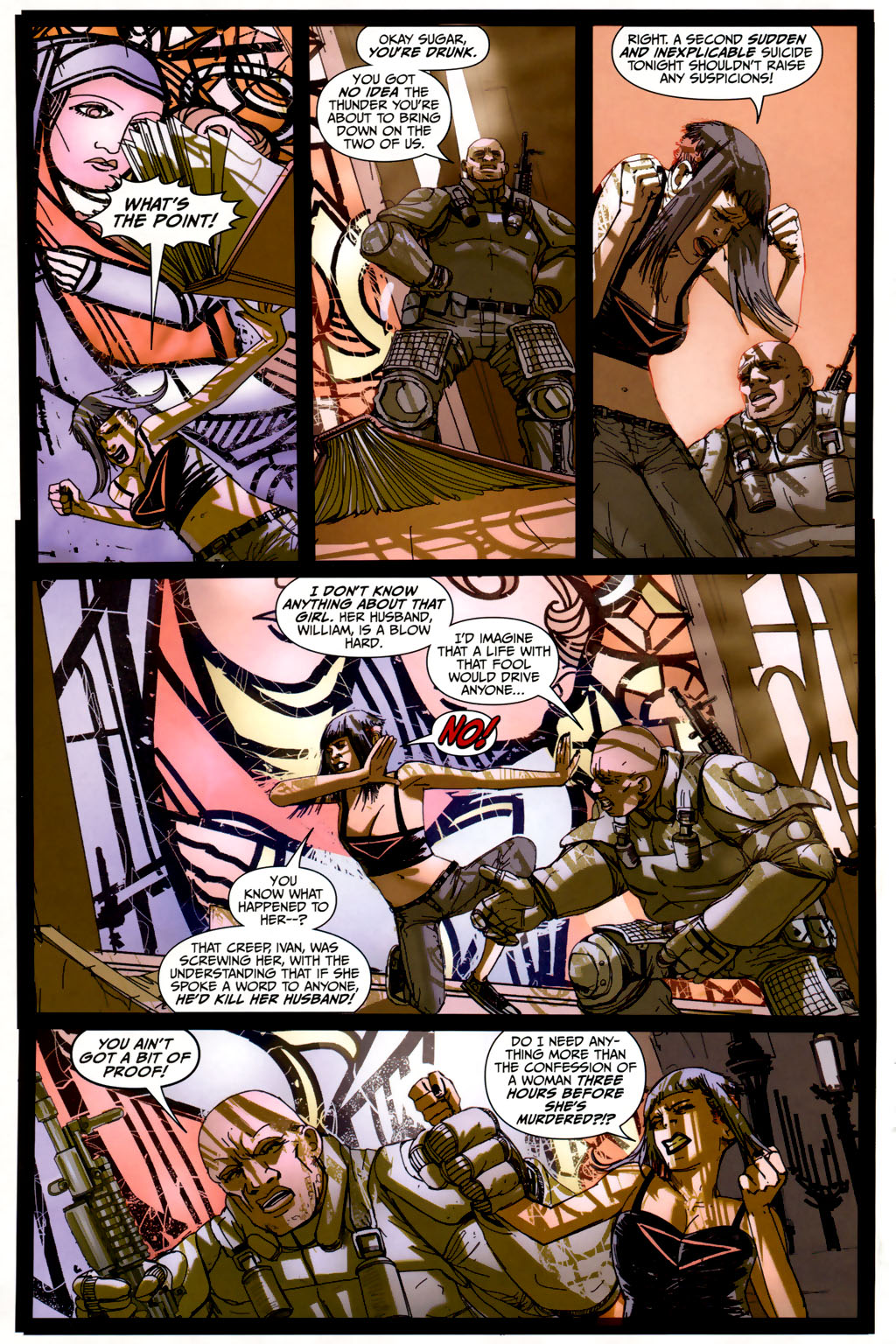 Read online Strange Girl comic -  Issue #6 - 16