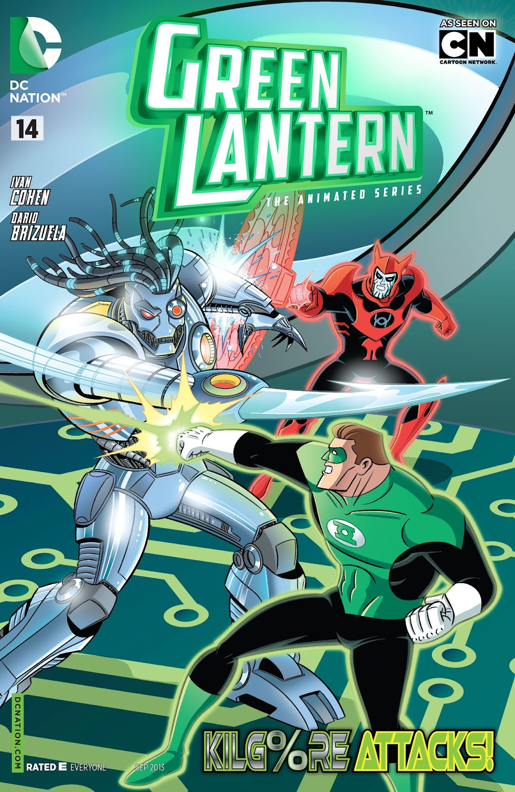 Green Lantern: The Animated Series 14 Page 1