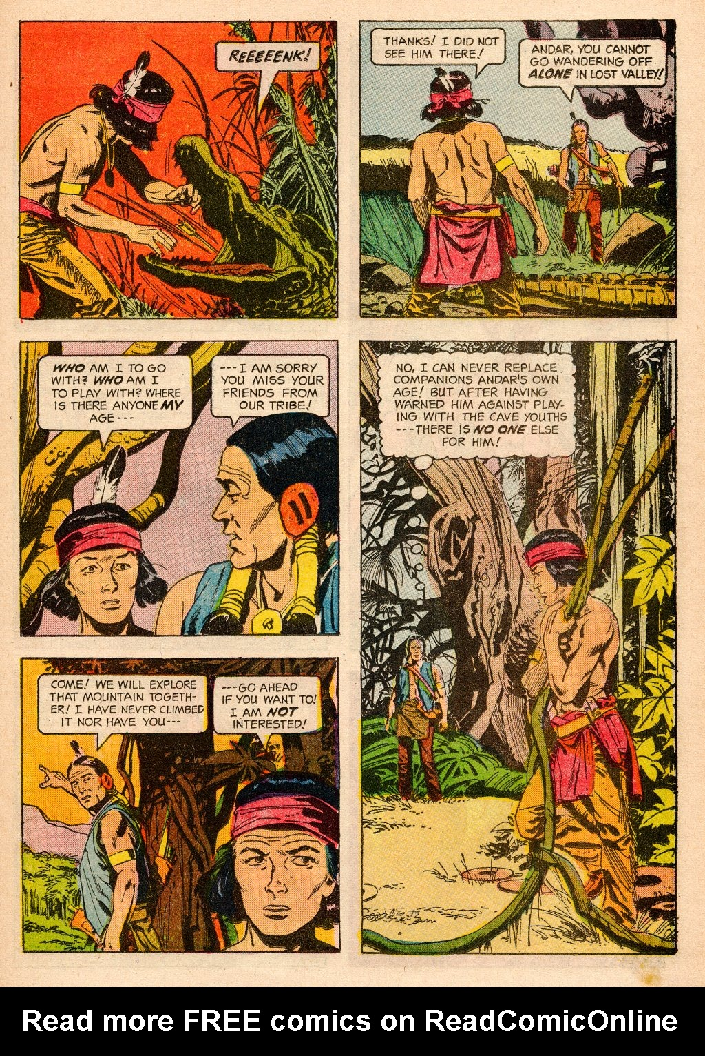 Read online Turok, Son of Stone comic -  Issue #33 - 23