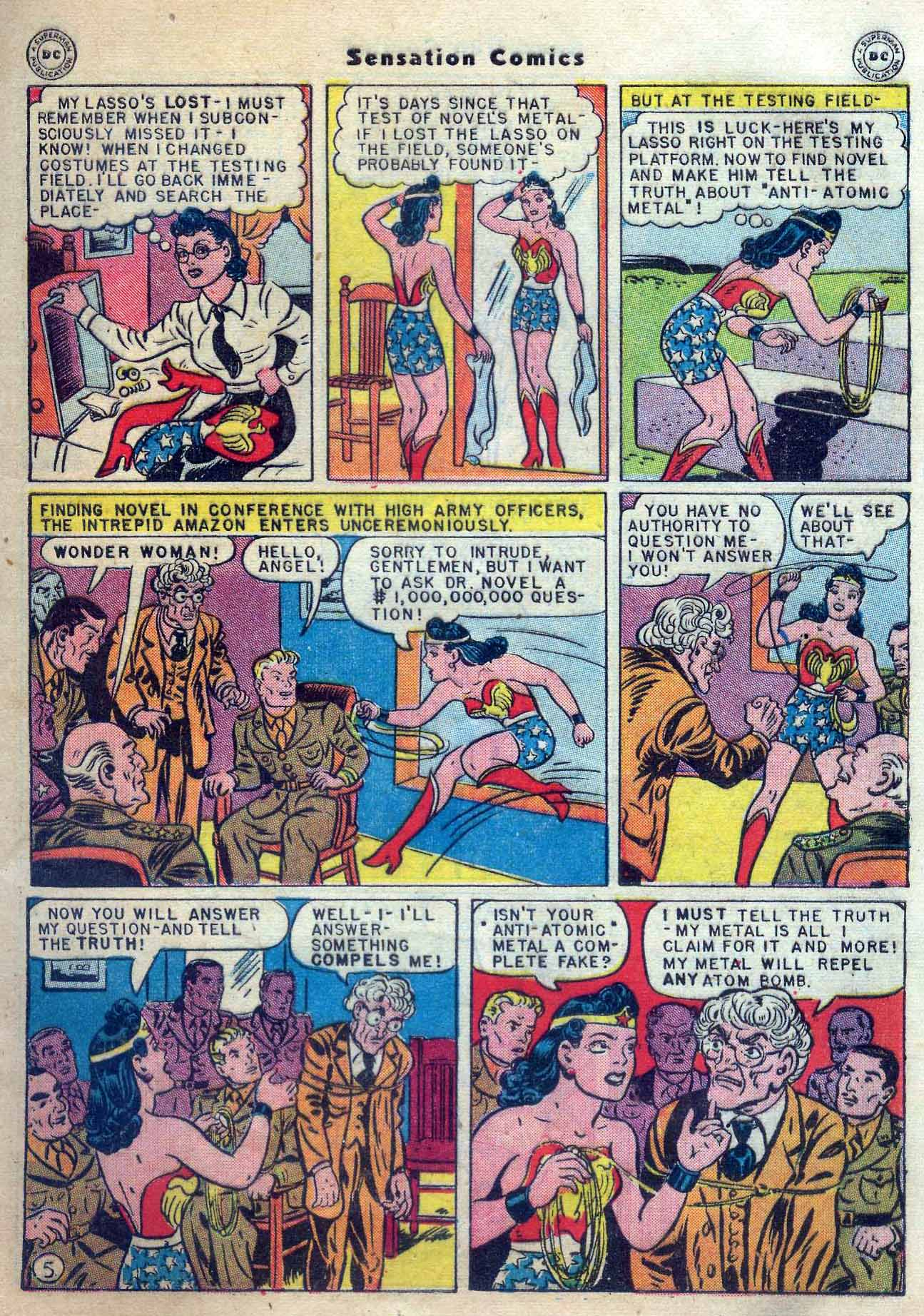 Read online Sensation (Mystery) Comics comic -  Issue #56 - 7