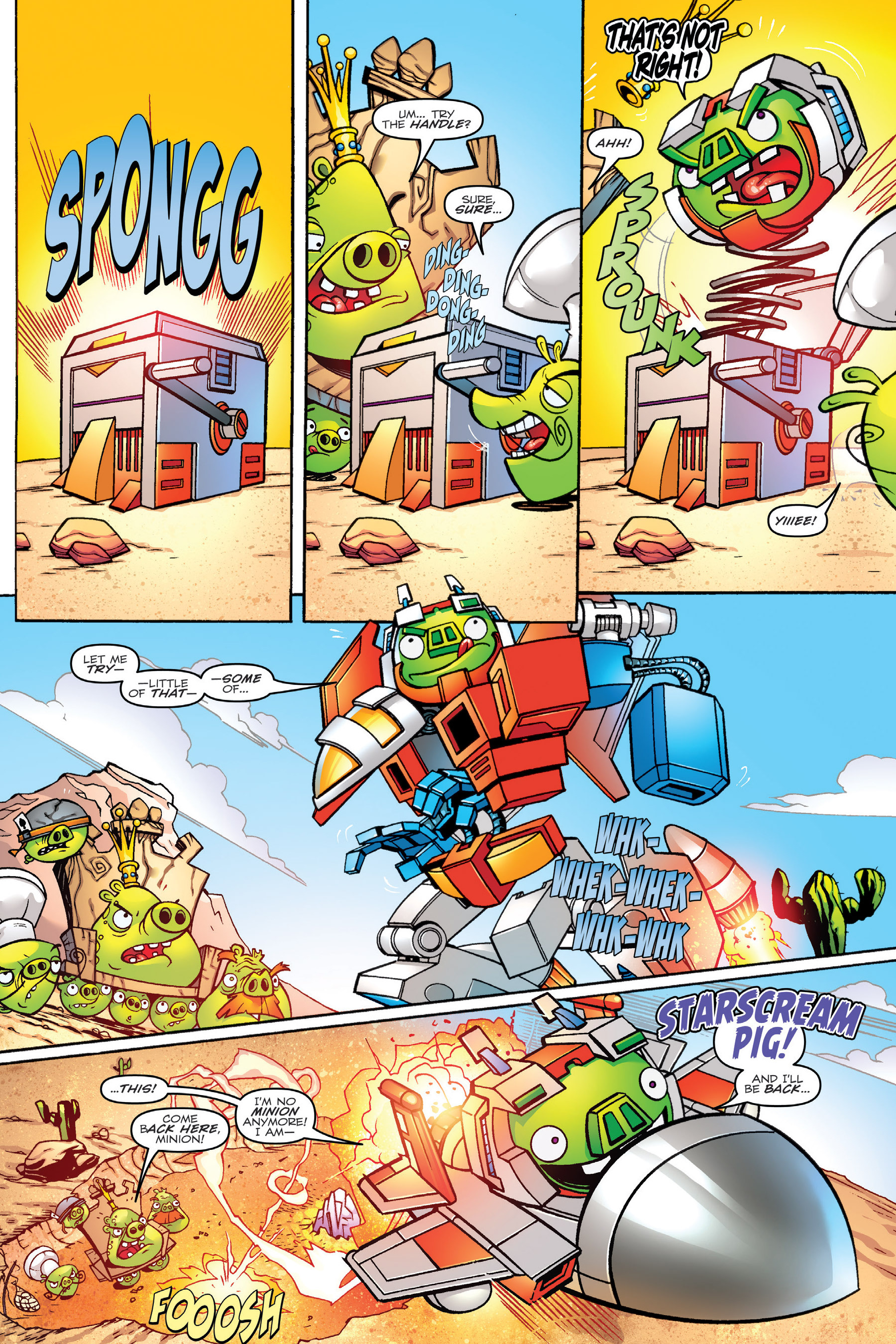 Read online Angry Birds Transformers: Age of Eggstinction comic -  Issue # Full - 18