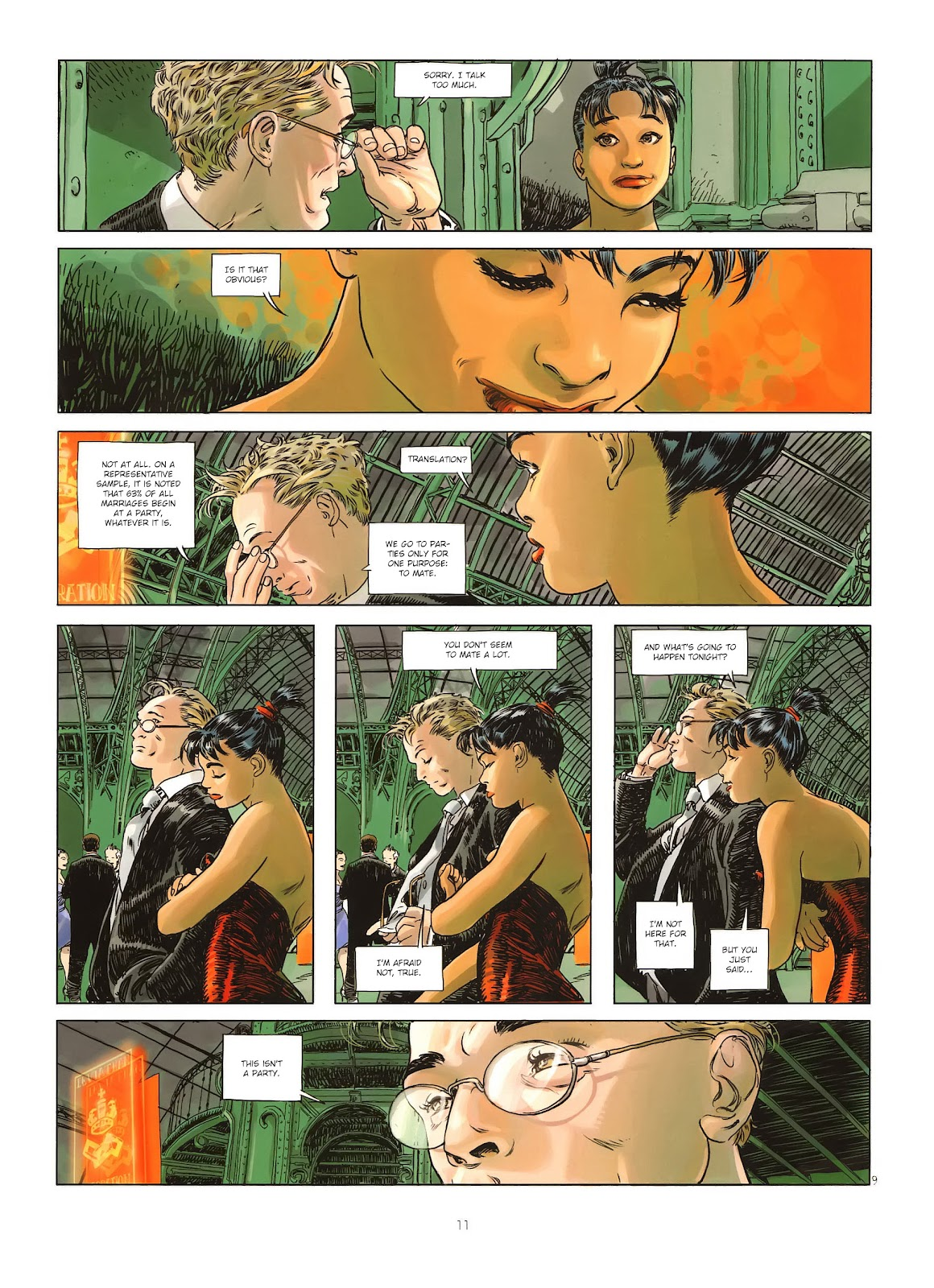 Read online Cutting Edge (2013) comic -  Issue #1 - 11