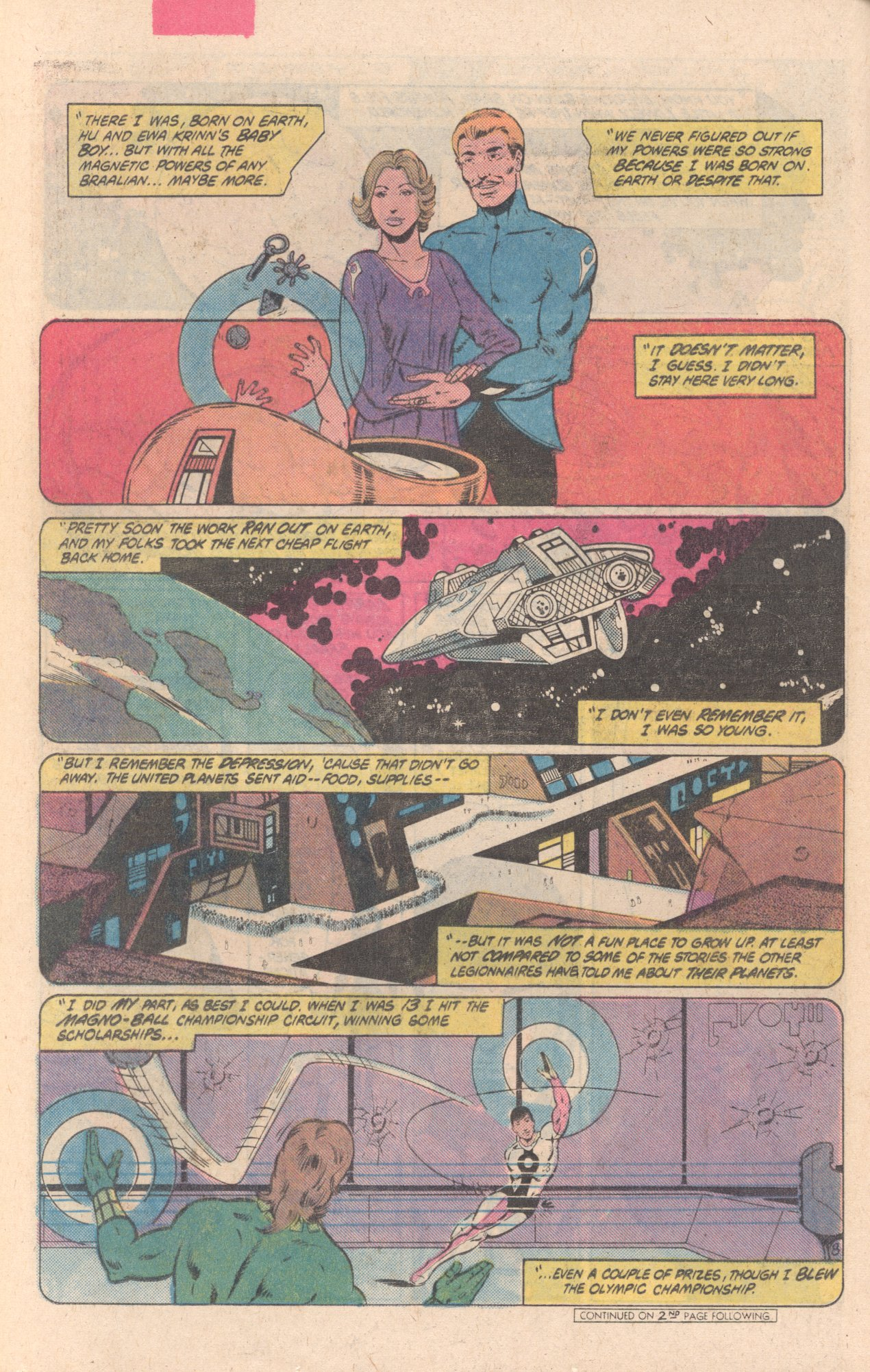 Legion of Super-Heroes (1980) 297 Page 8