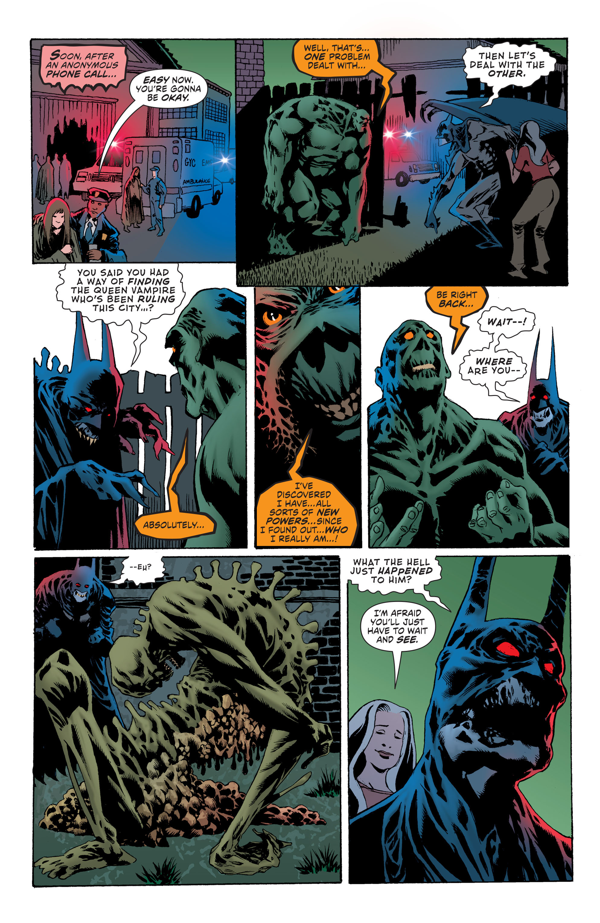 Read online Convergence Swamp Thing comic -  Issue #2 - 15