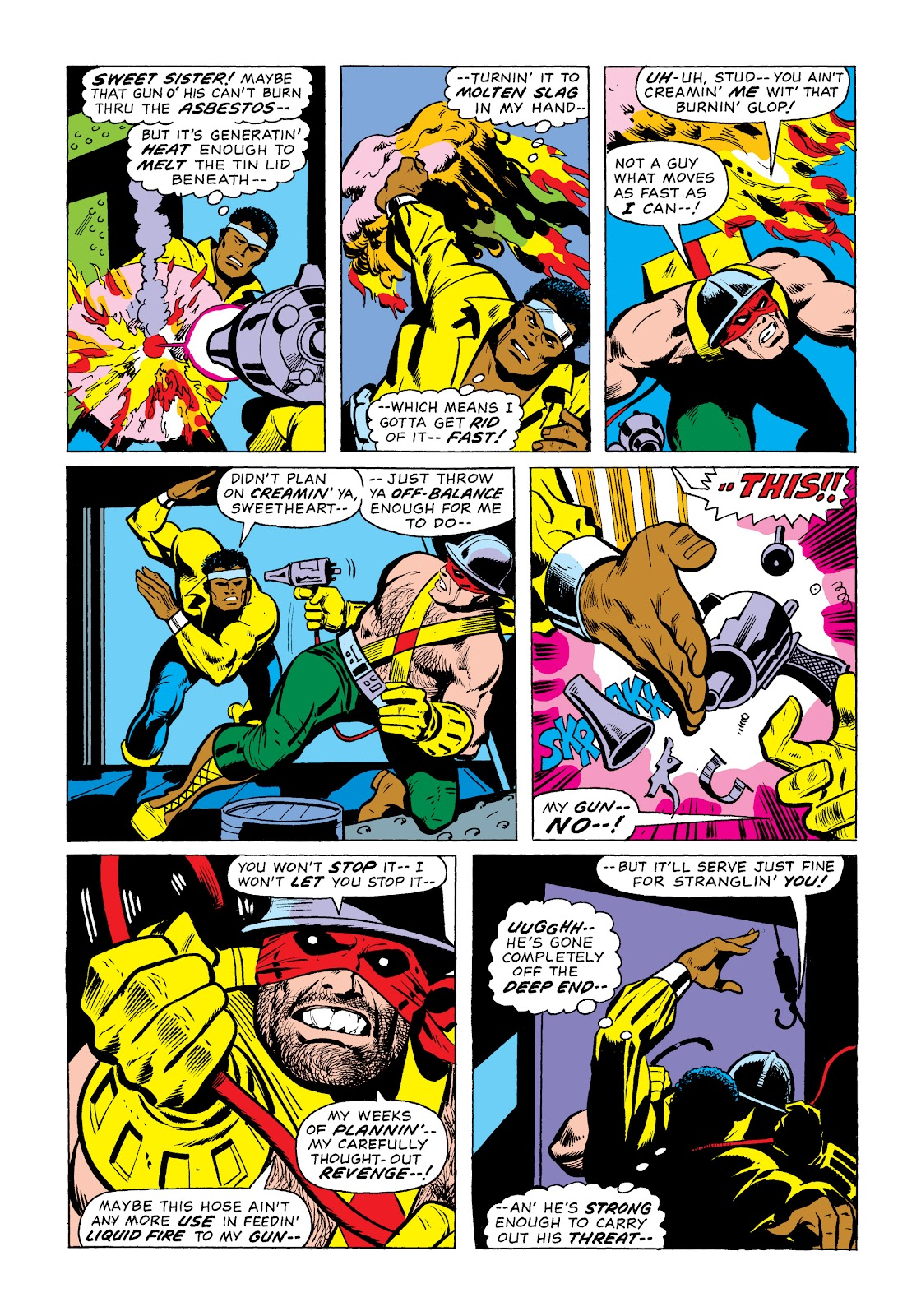 Read online Marvel Masterworks: Luke Cage, Power Man comic -  Issue # TPB 2 (Part 1) - 44