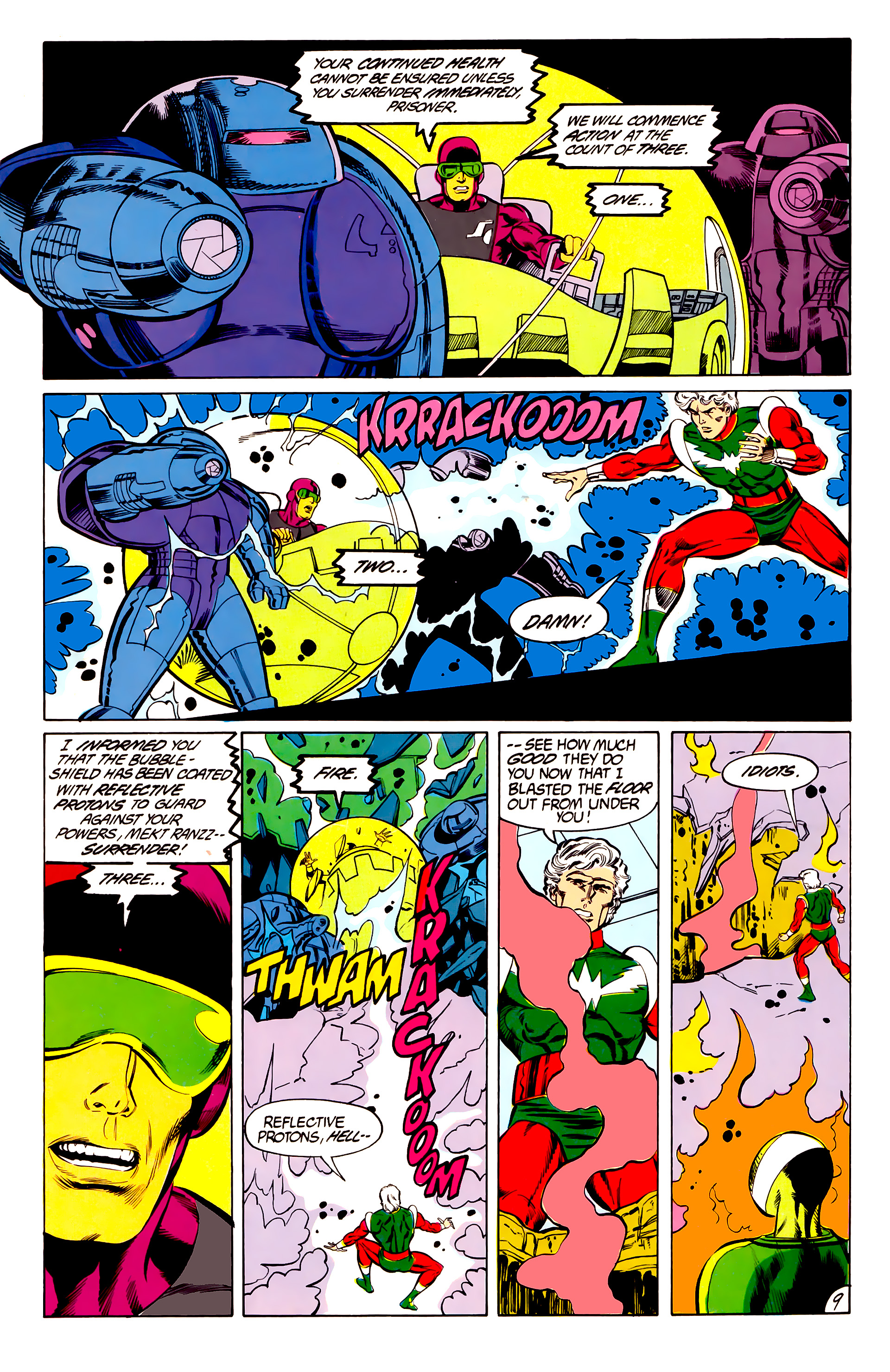 Legion of Super-Heroes (1984) 45 Page 9