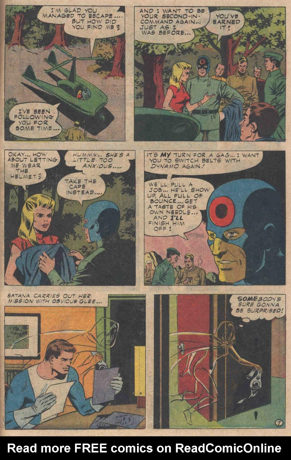 T.H.U.N.D.E.R. Agents (1965) issue 6 - Page 39