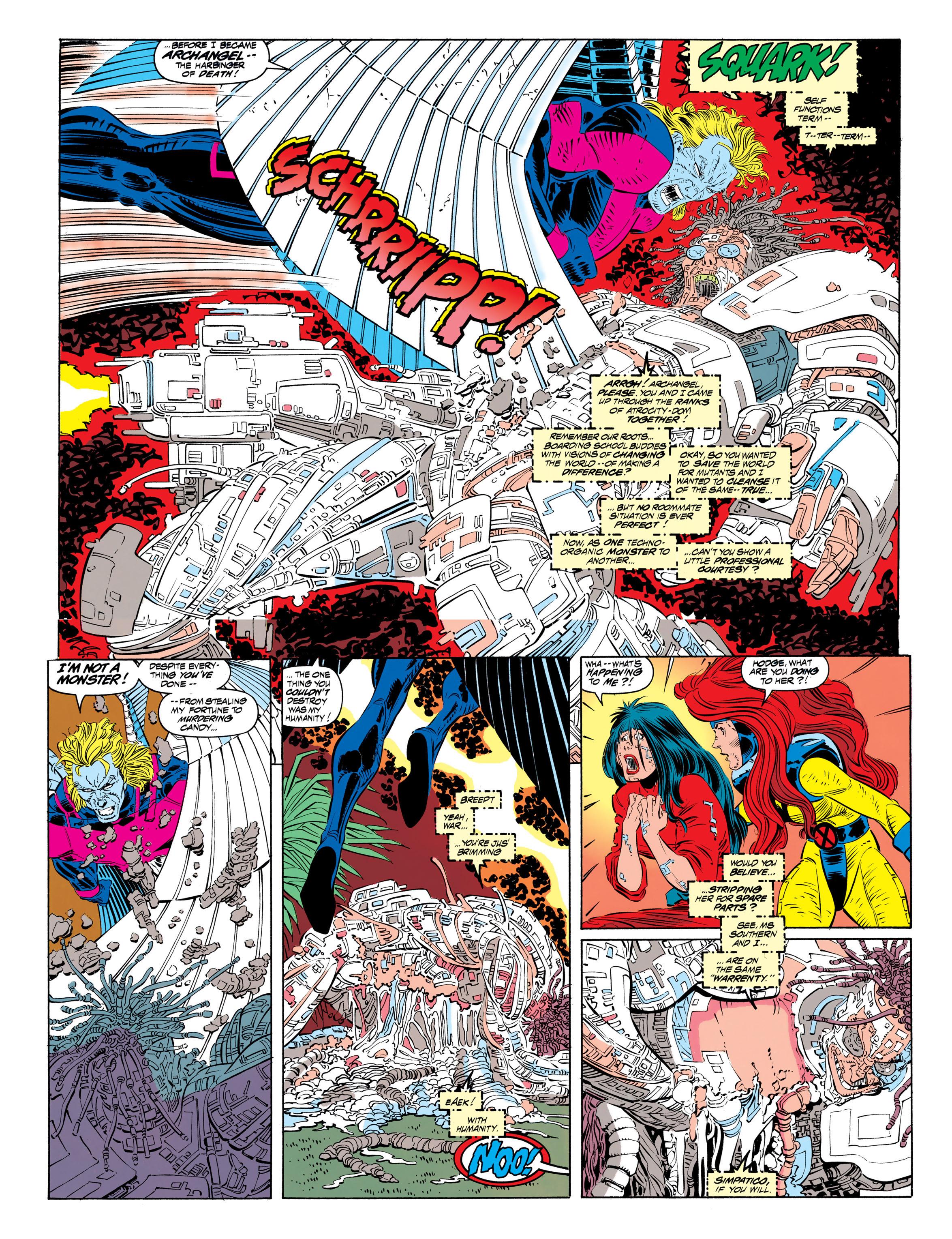 Read online Uncanny X-Men (1963) comic -  Issue #306 - 18
