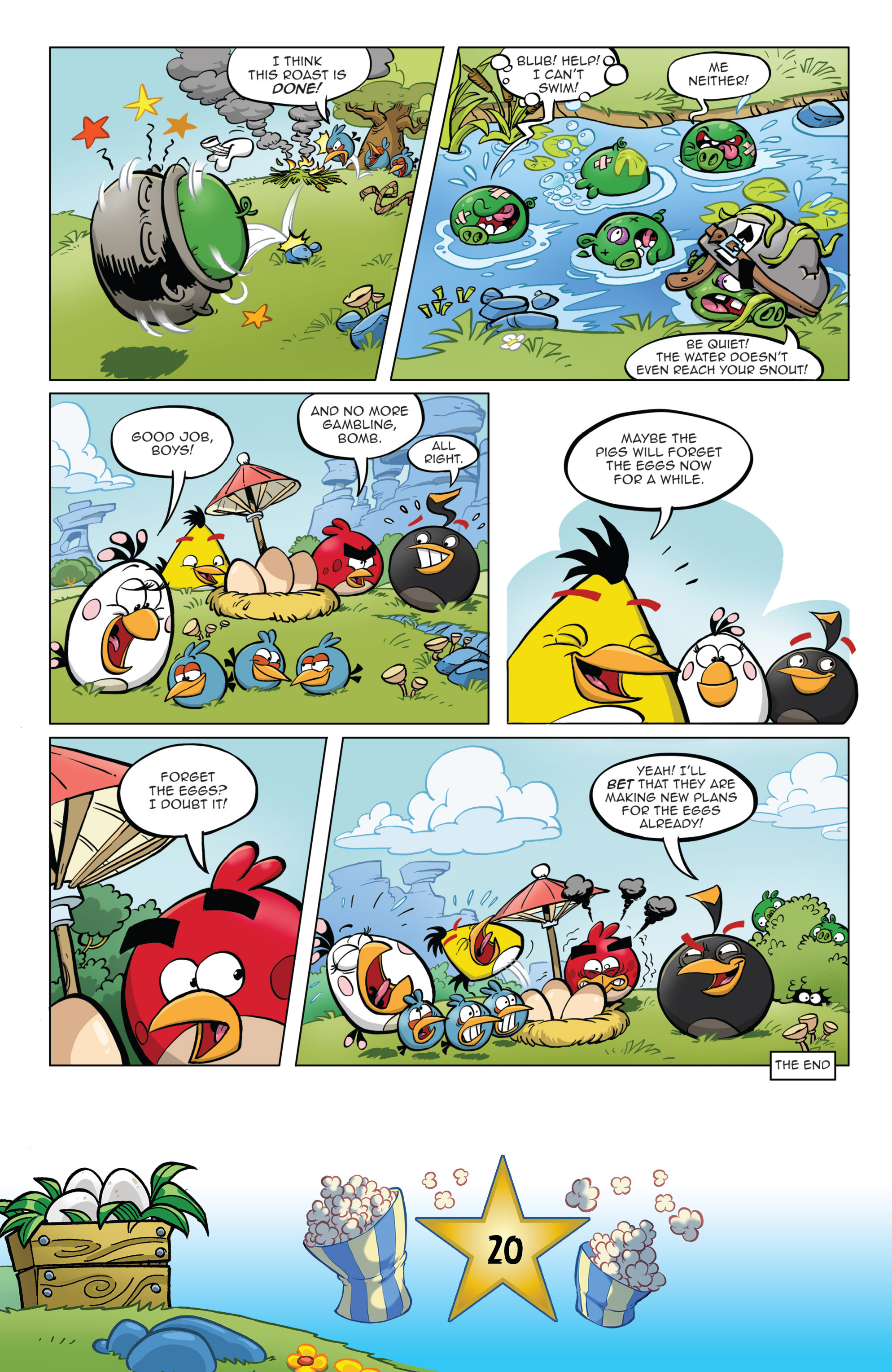 Read online Angry Birds Comics (2016) comic -  Issue #5 - 22