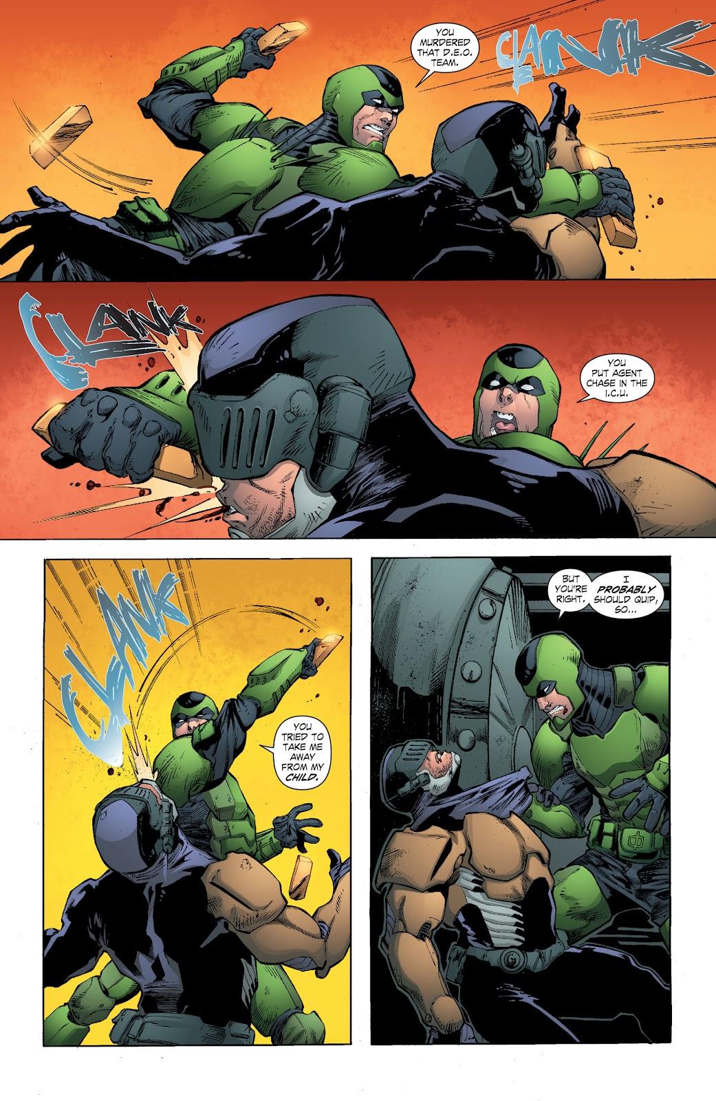 Read online Smallville Season 11 [II] comic -  Issue # TPB 7 - 114
