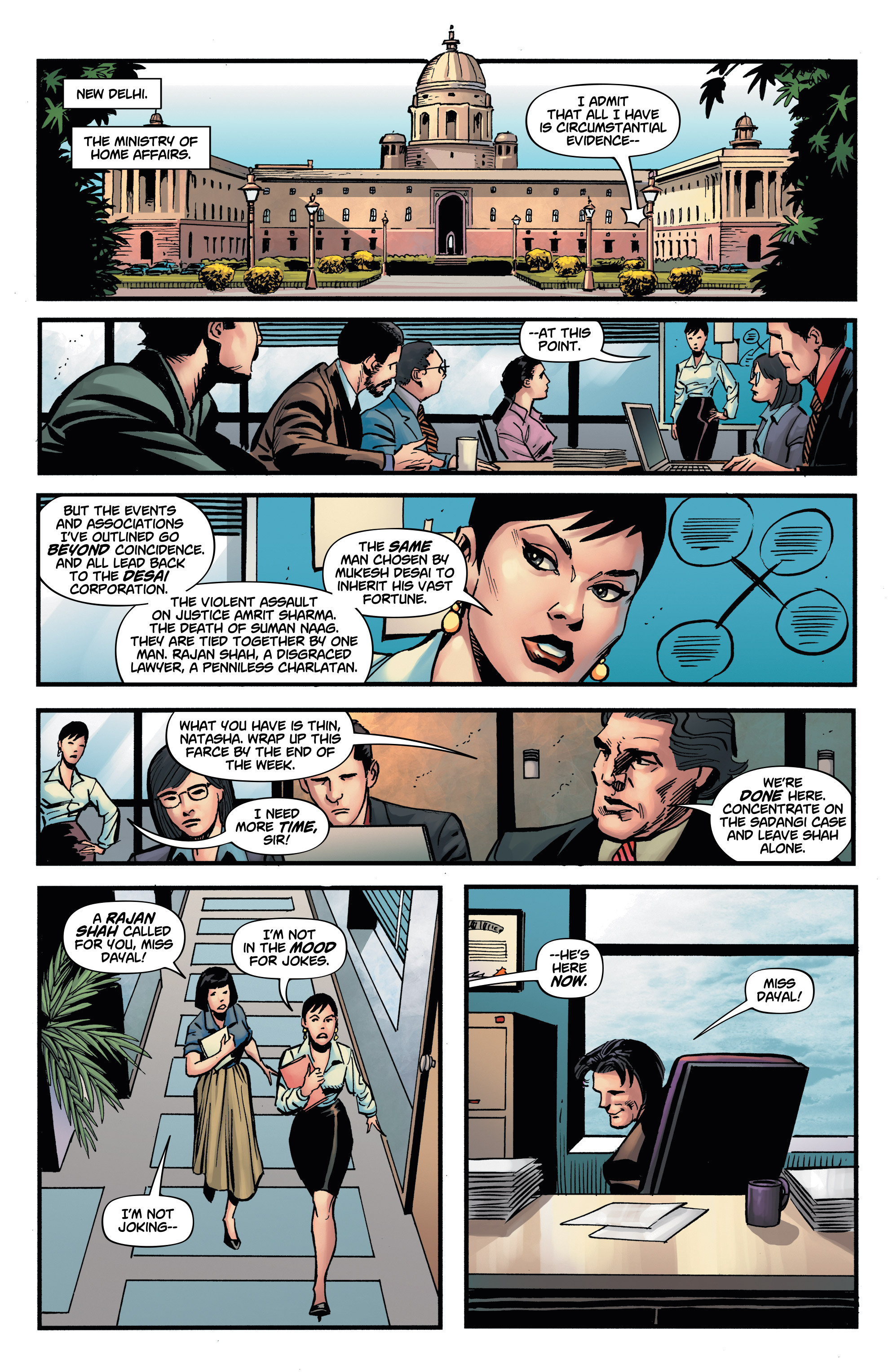 Read online Shadow Tiger comic -  Issue #2 - 11