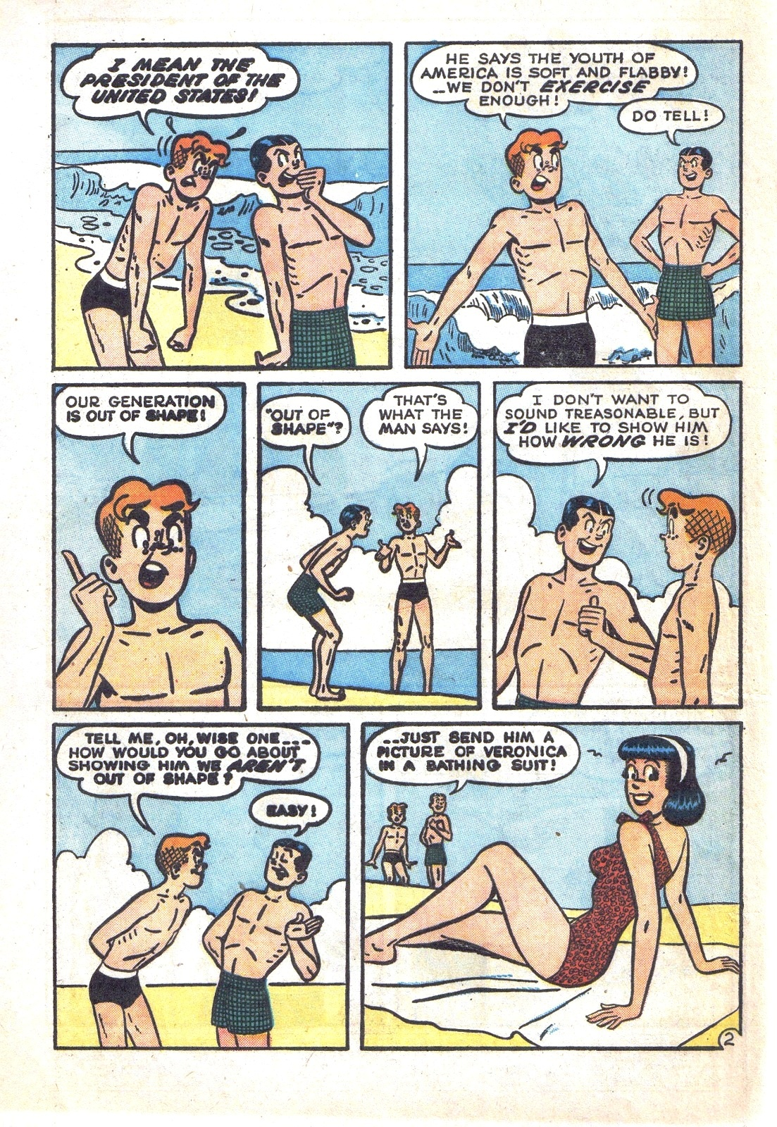 Read online Archie (1960) comic -  Issue #131 - 4