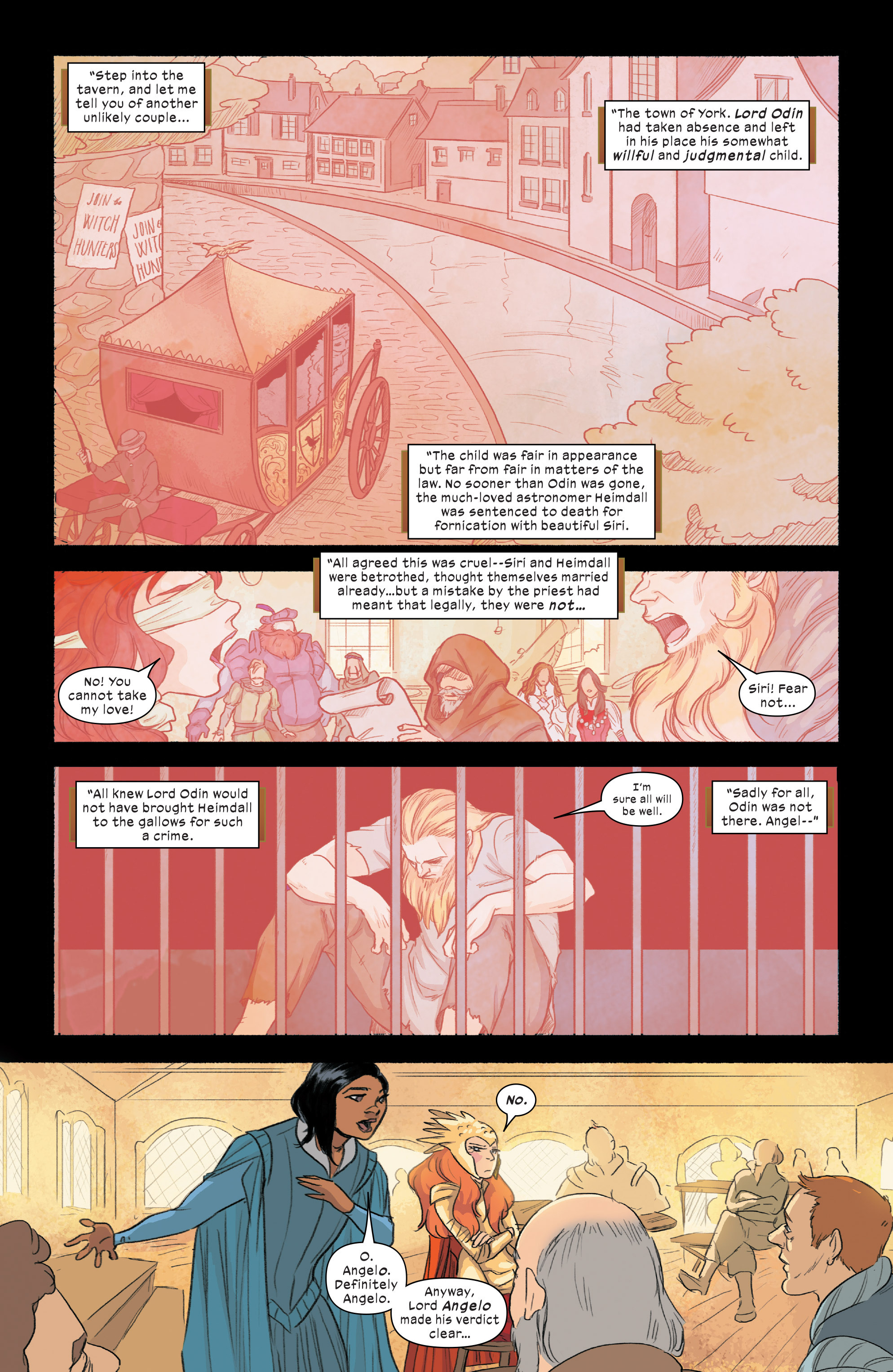 Read online 1602 Witch Hunter Angela comic -  Issue #2 - 10