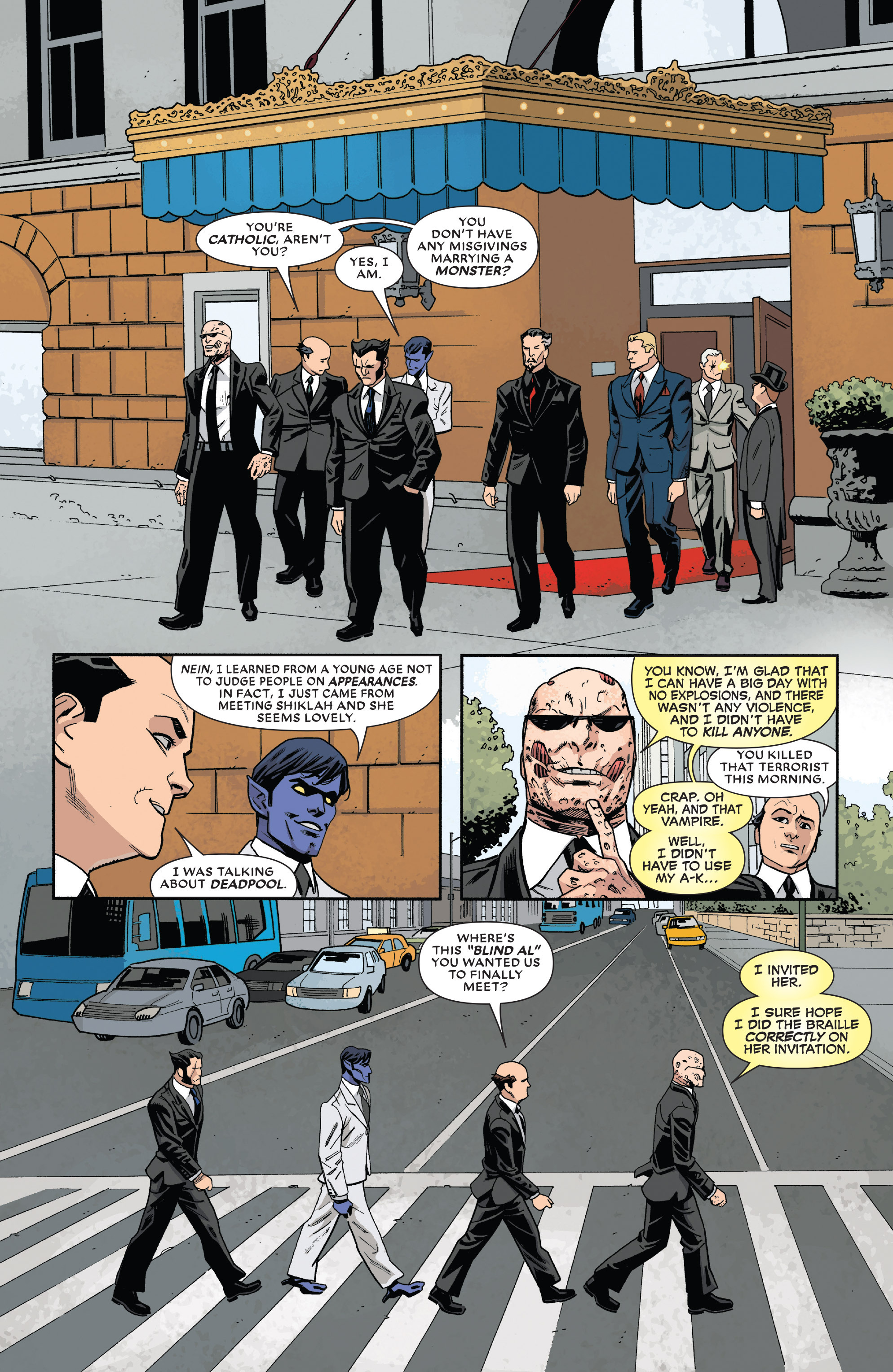 Read online True Believers: The Wedding of Deadpool comic -  Issue # Full - 13