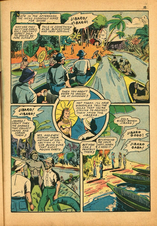 Read online Super-Magician Comics comic -  Issue #9 - 11